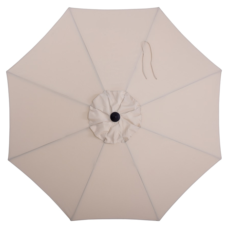 Most Recent Solid Market Umbrellas With Regard To Patio Umbrellas At Lowes (View 10 of 20)