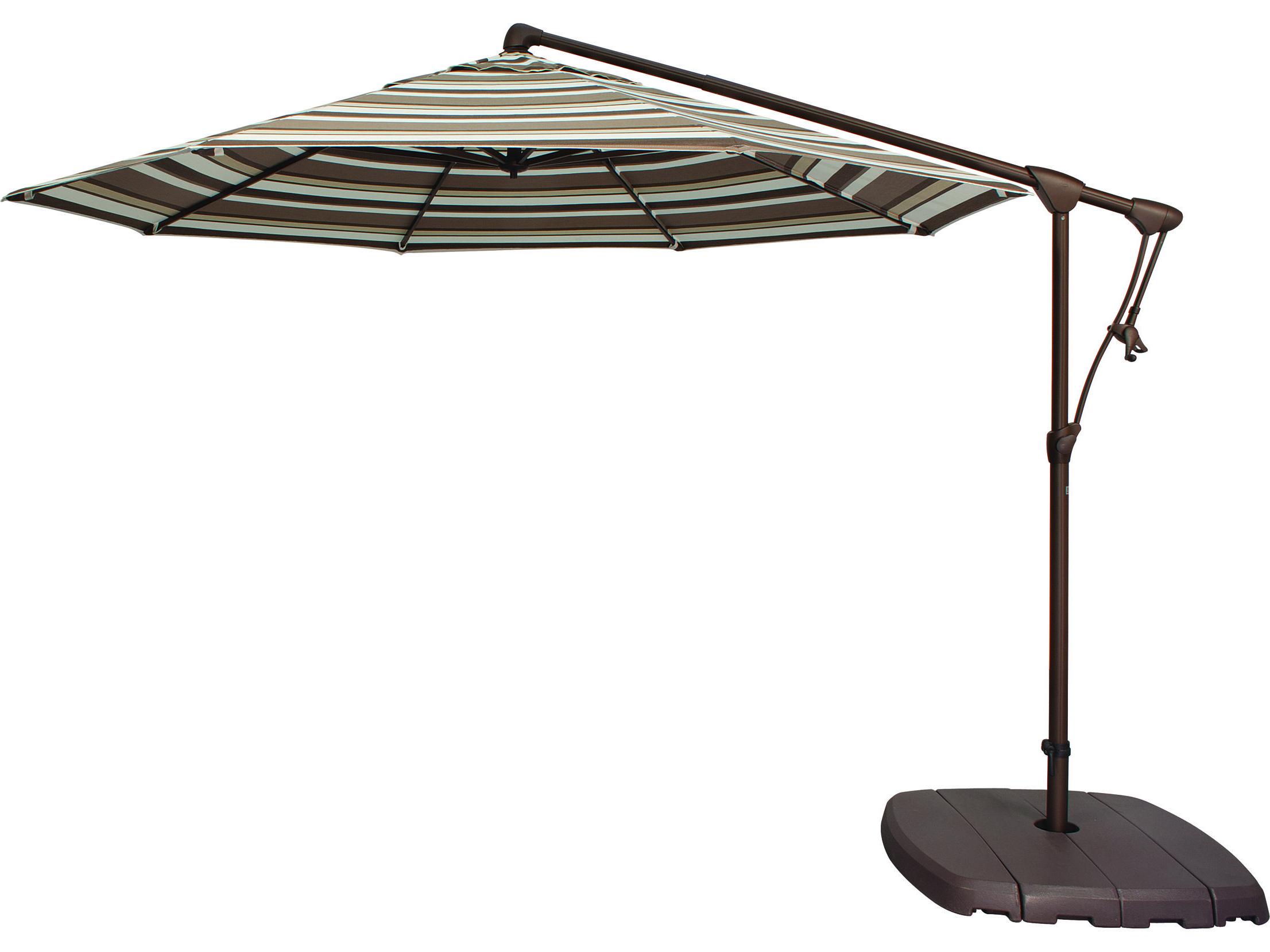 Most Recent Treasure Garden Cantilever Ag19 Aluminum 10' Octagon Tilt & Lock Pertaining To Carlisle Cantilever Sunbrella Umbrellas (Gallery 9 of 20)