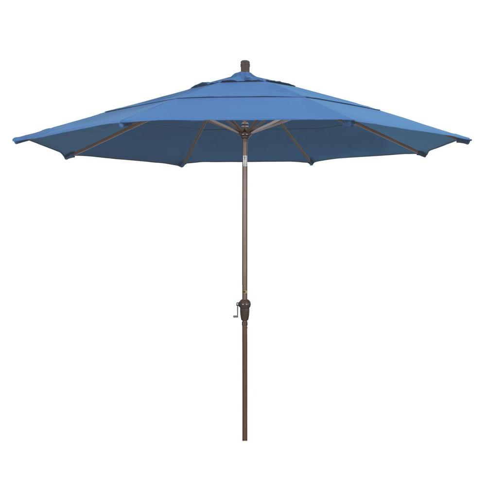Most Recently Released Cantilever Umbrellas – Patio Umbrellas – The Home Depot Within Bonita Rectangular Market Umbrellas (Gallery 12 of 20)