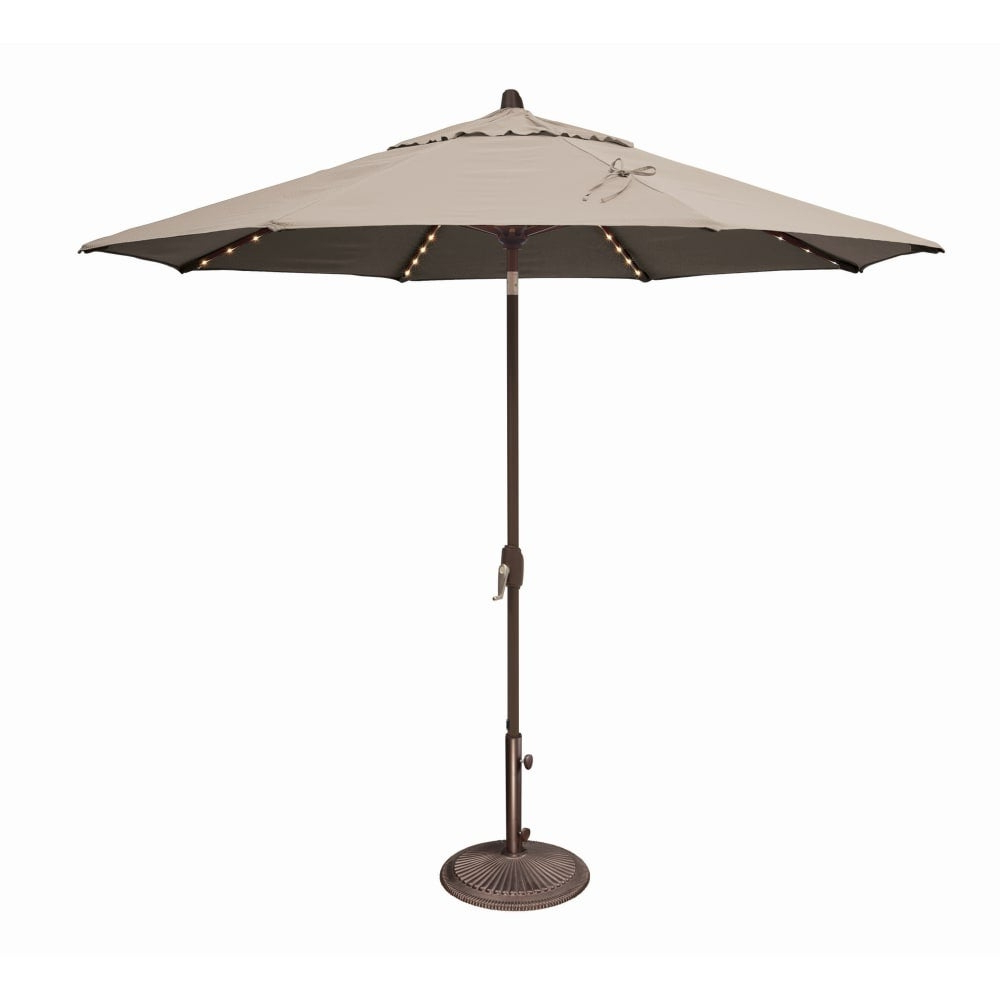 Most Recently Released Simplyshade Ssum81sl 0900 A Lanai Pro 9 Foot Wide Open Sunbrella Market Umbrella For Lanai Market Umbrellas (View 8 of 20)