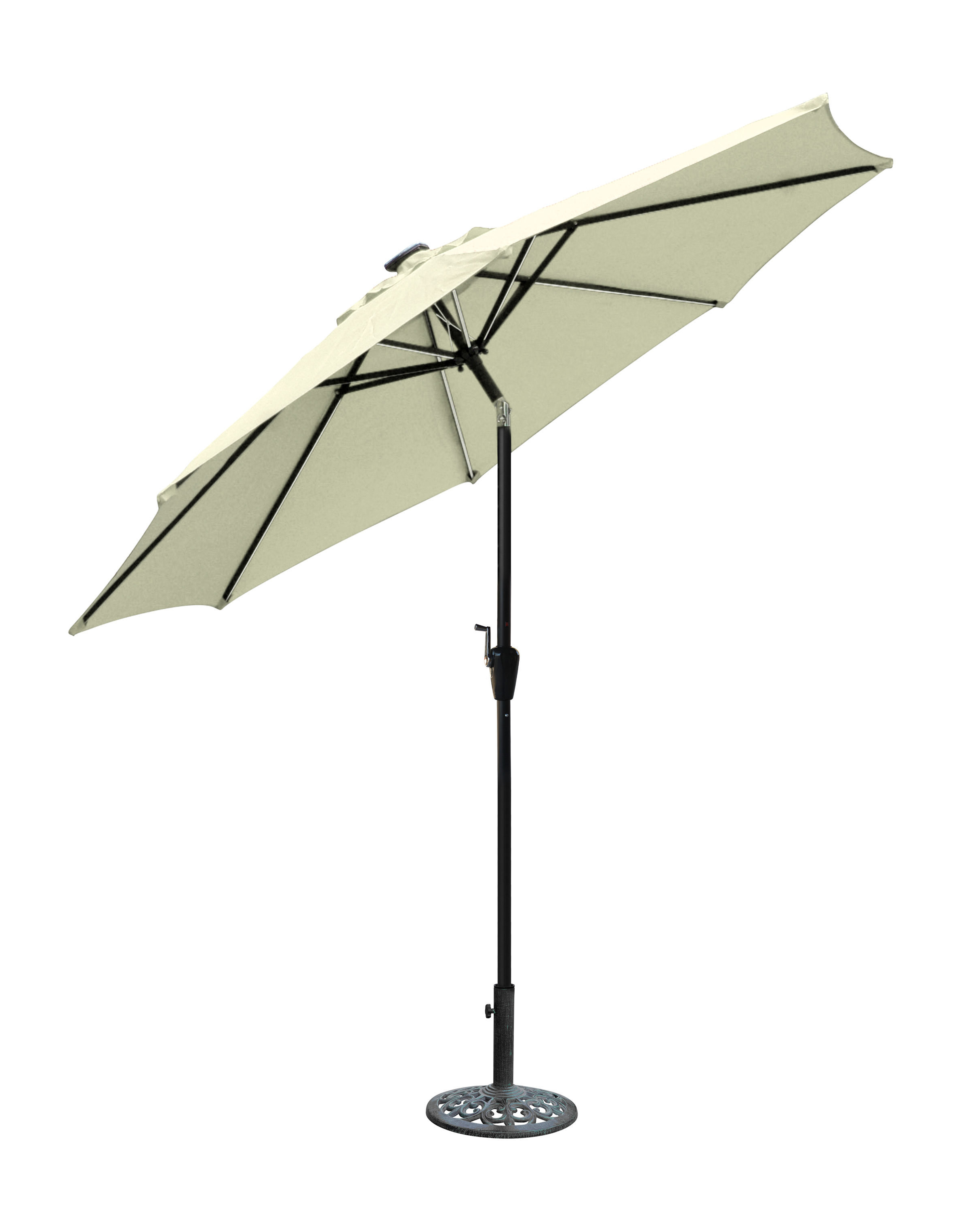 Most Recently Released Sonora 8.5' Lighted Umbrella With Woll Lighted Market Umbrellas (Gallery 9 of 20)