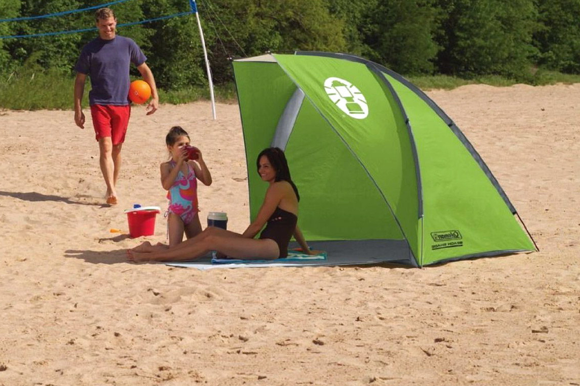 Most Recently Released Sun Shelter Beach Umbrellas Intended For Best Beach Umbrellas & Canopies – Outerbanks (Gallery 9 of 20)