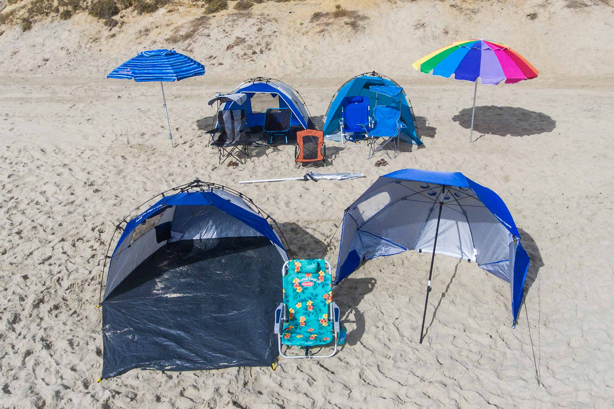 Most Recently Released Sun Shelter Beach Umbrellas Throughout The Best Beach Umbrellas, Chairs & Tents Of 2019 – Your Best Digs (View 6 of 20)