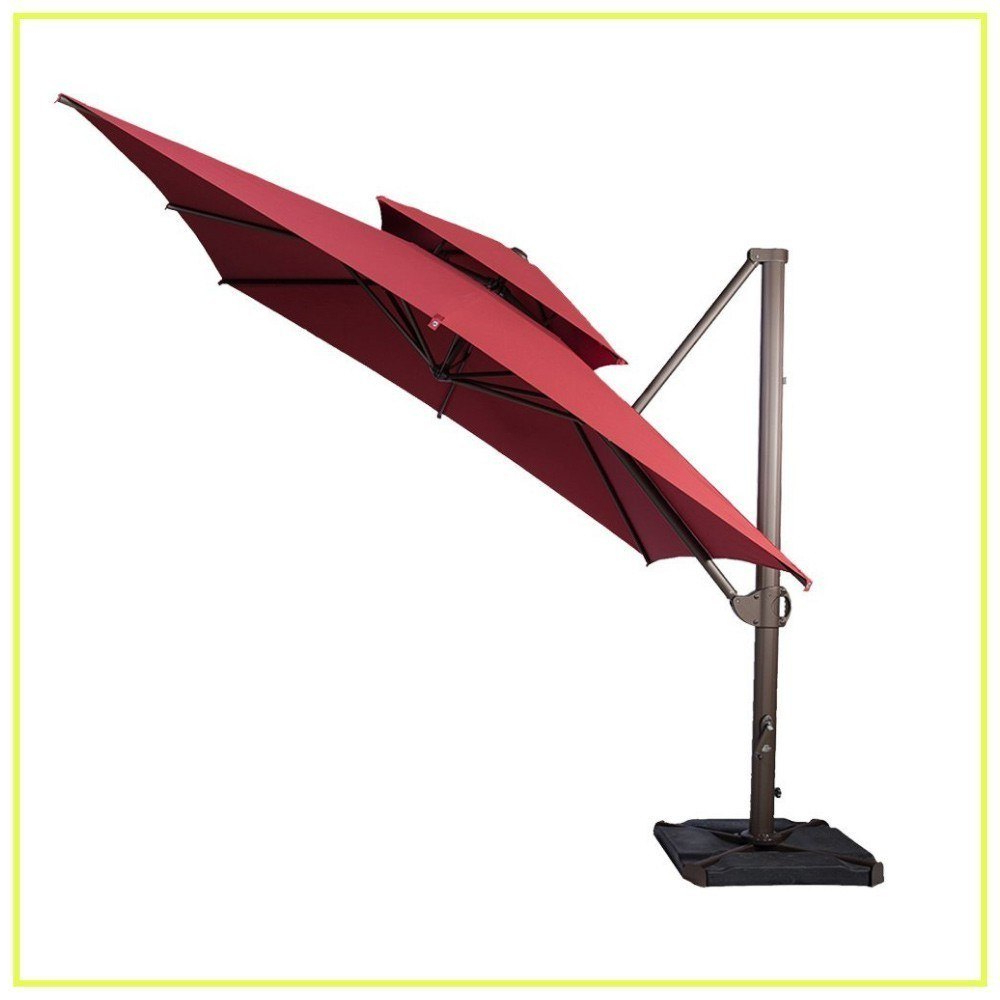 Most Up To Date 10 Best Cantilever Umbrellas In 2019: A Complete Guide And Reviews Regarding Mald Square Cantilever Umbrellas (Gallery 20 of 20)