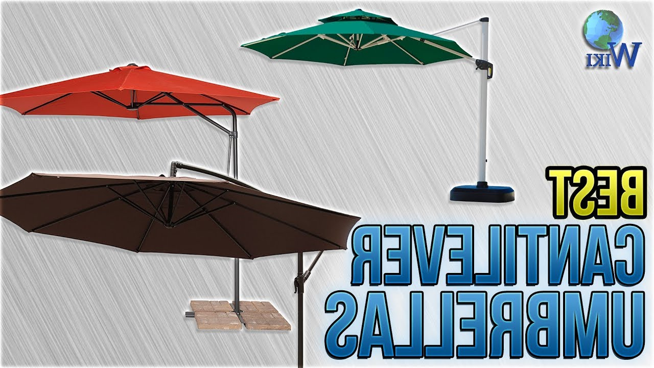 Most Up To Date 8 Best Cantilever Umbrellas 2018 Throughout Dore Patio Cantilever Umbrellas (View 13 of 20)