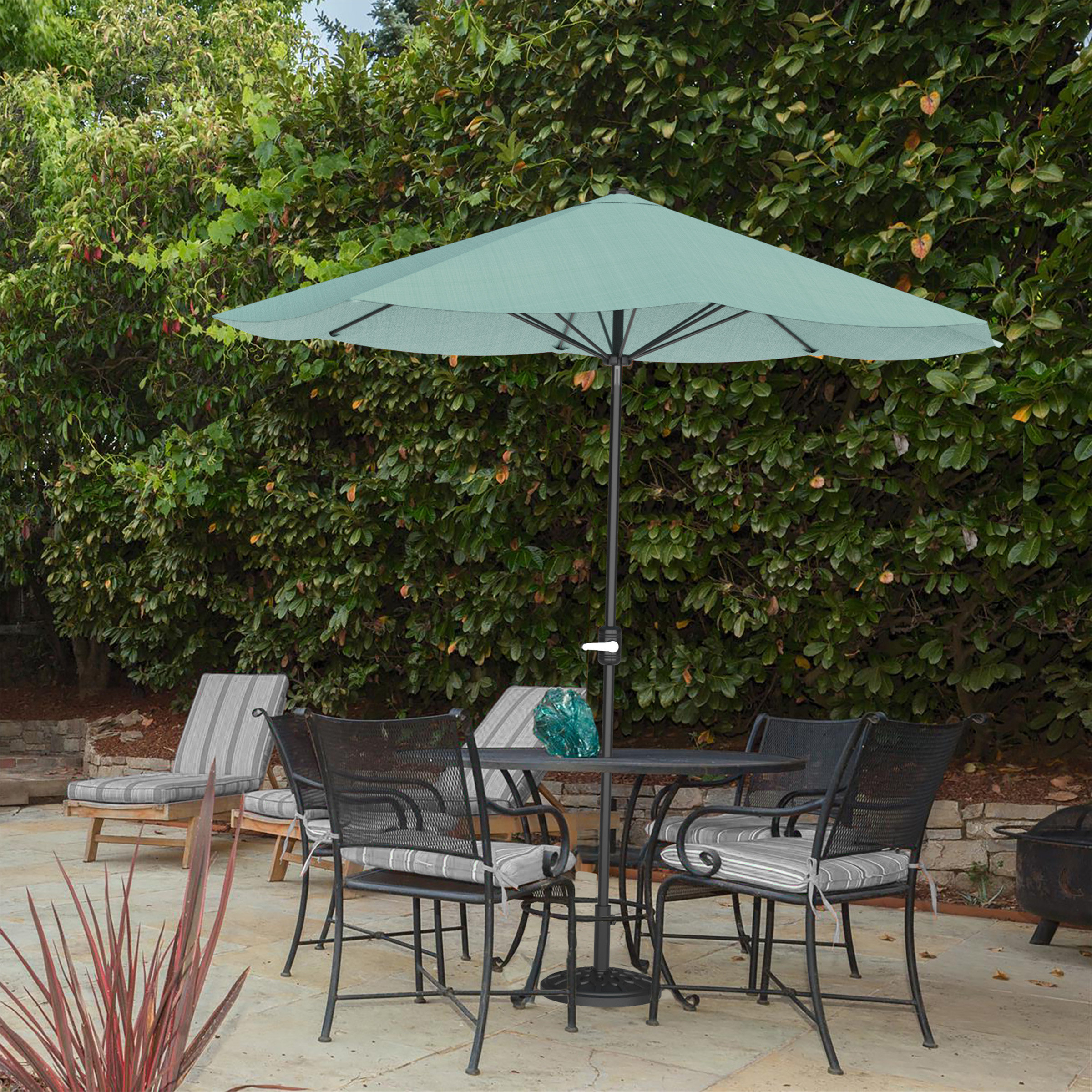 Most Up To Date Beachcrest Home Kelton 9' Market Umbrella Inside Mullaney Beachcrest Home Market Umbrellas (Gallery 8 of 20)