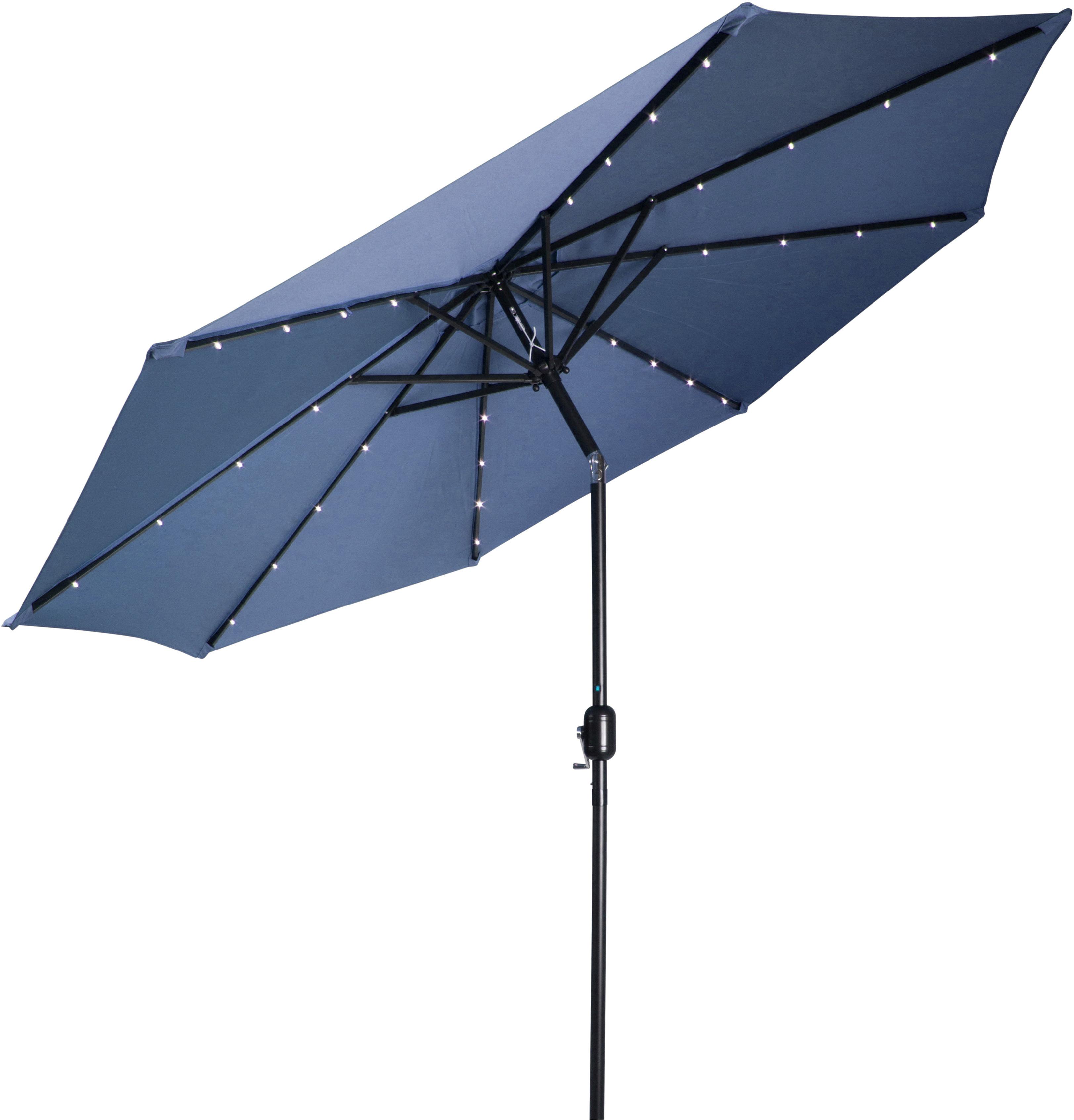 Most Up To Date Breeden 10' Lighted Umbrella Inside Brame Market Umbrellas (View 13 of 20)
