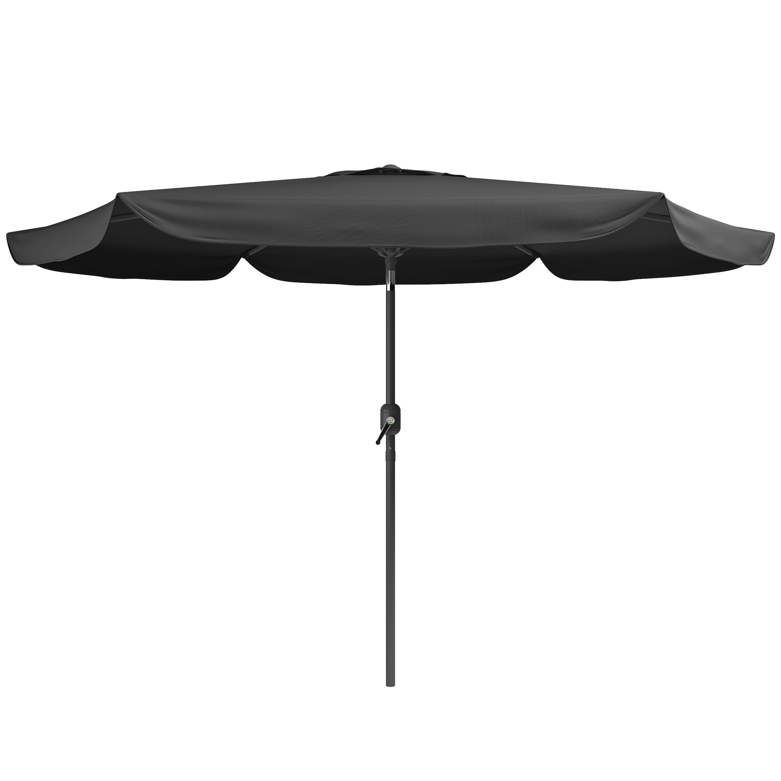 Most Up To Date Crowborough Square Market Umbrellas Pertaining To Crowborough 10' Market Umbrella (View 14 of 20)