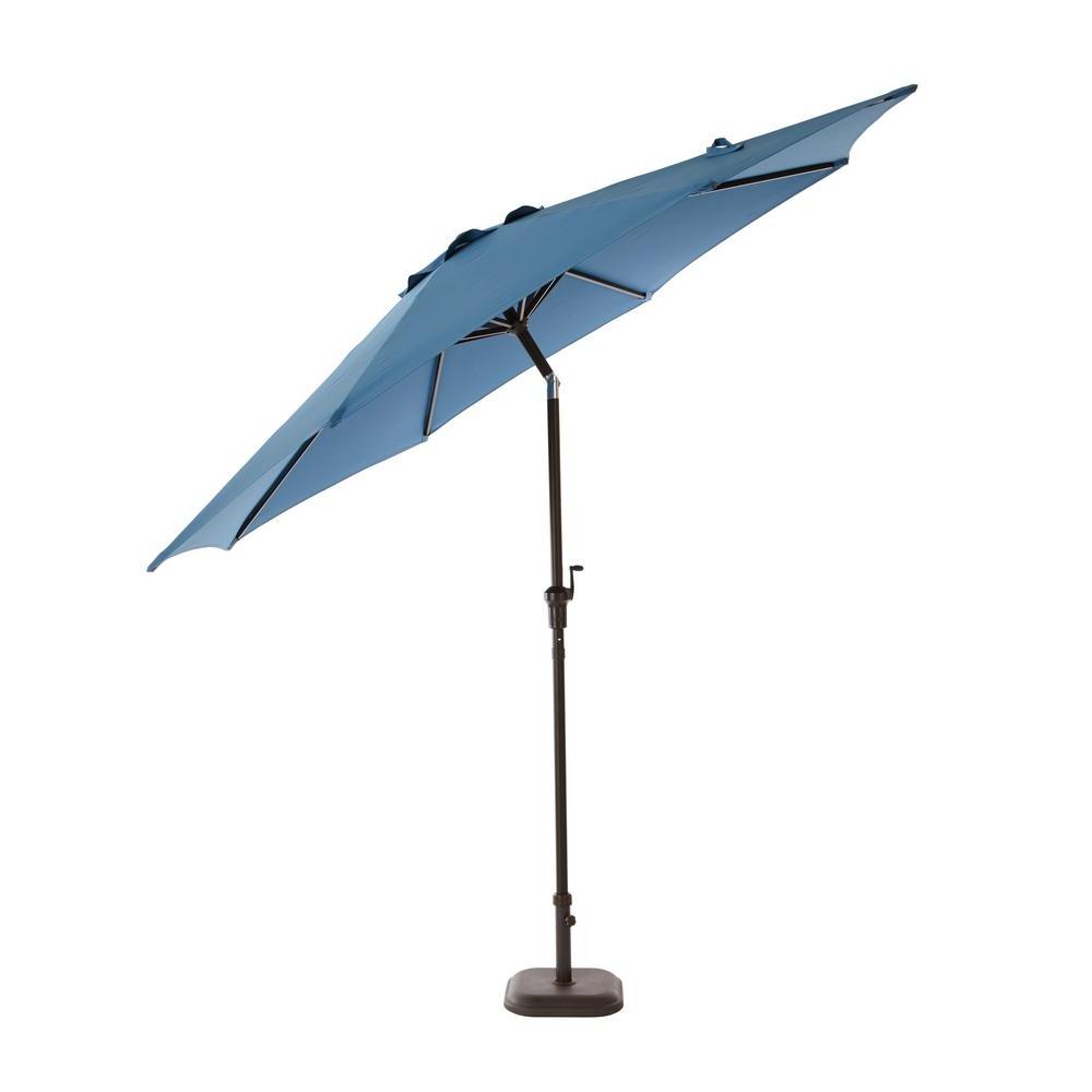 Most Up To Date Hurt Market Umbrellas Regarding Hampton Bay 9 Ft (View 12 of 20)