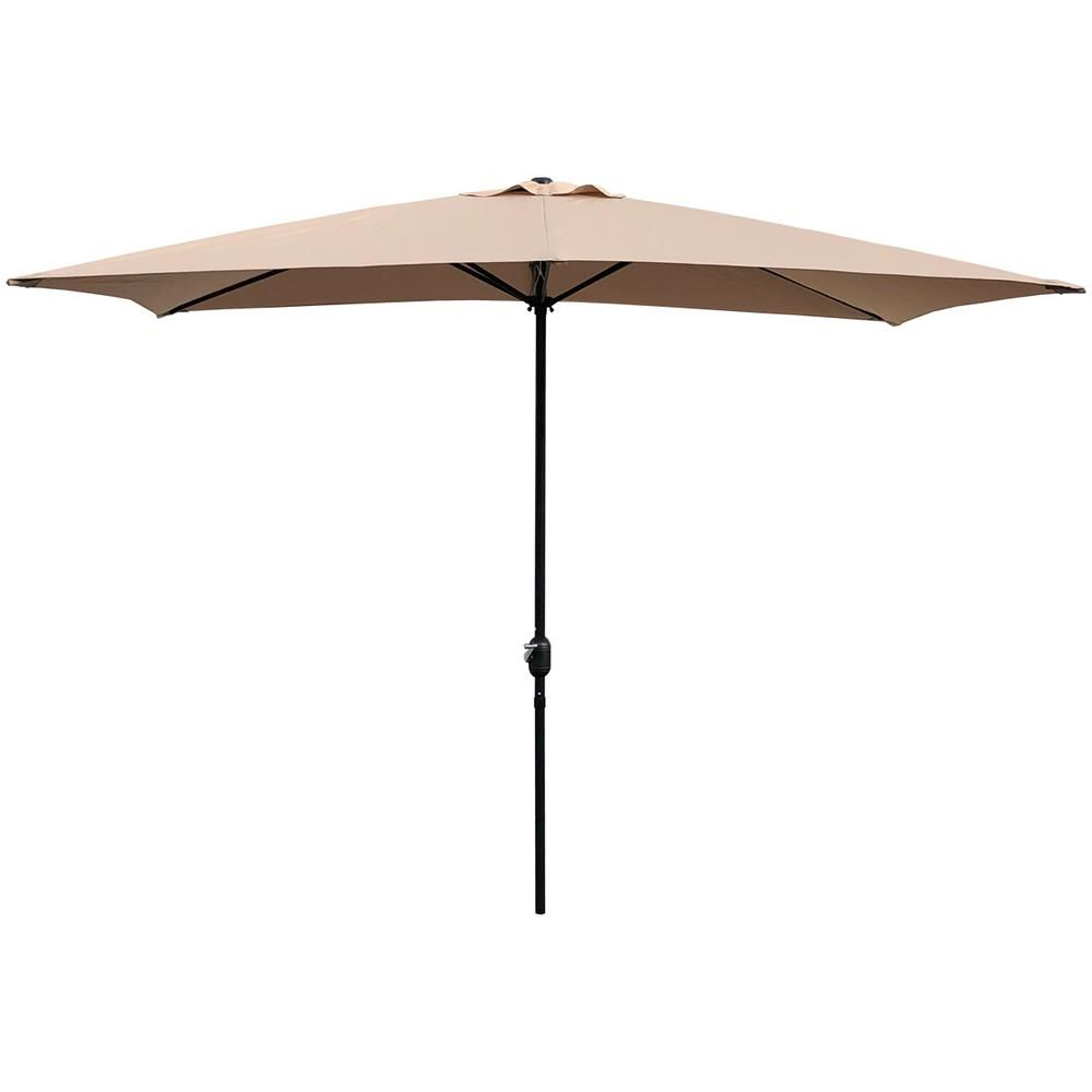 Most Up To Date Jerrell Rectangular Market Umbrellas Regarding Maypex 10 Ft. X 6.5 Ft (View 18 of 20)