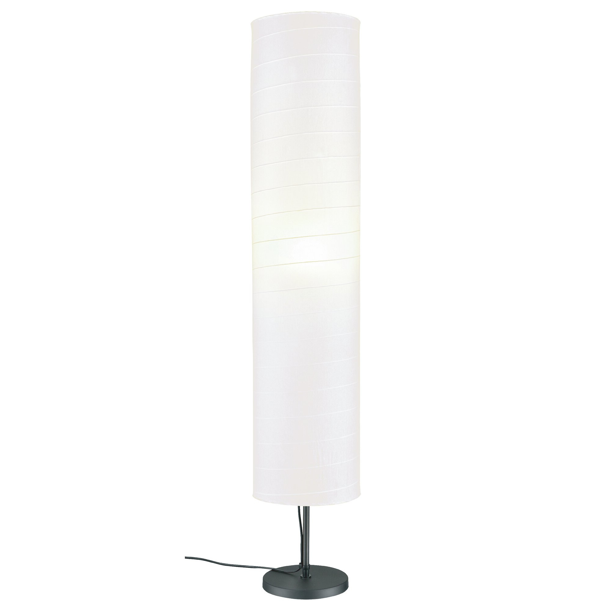 "Most Up To Date Nuno 46"" Column Floor Lamp Regarding Bricelyn Market Umbrellas (Gallery 18 of 20)"