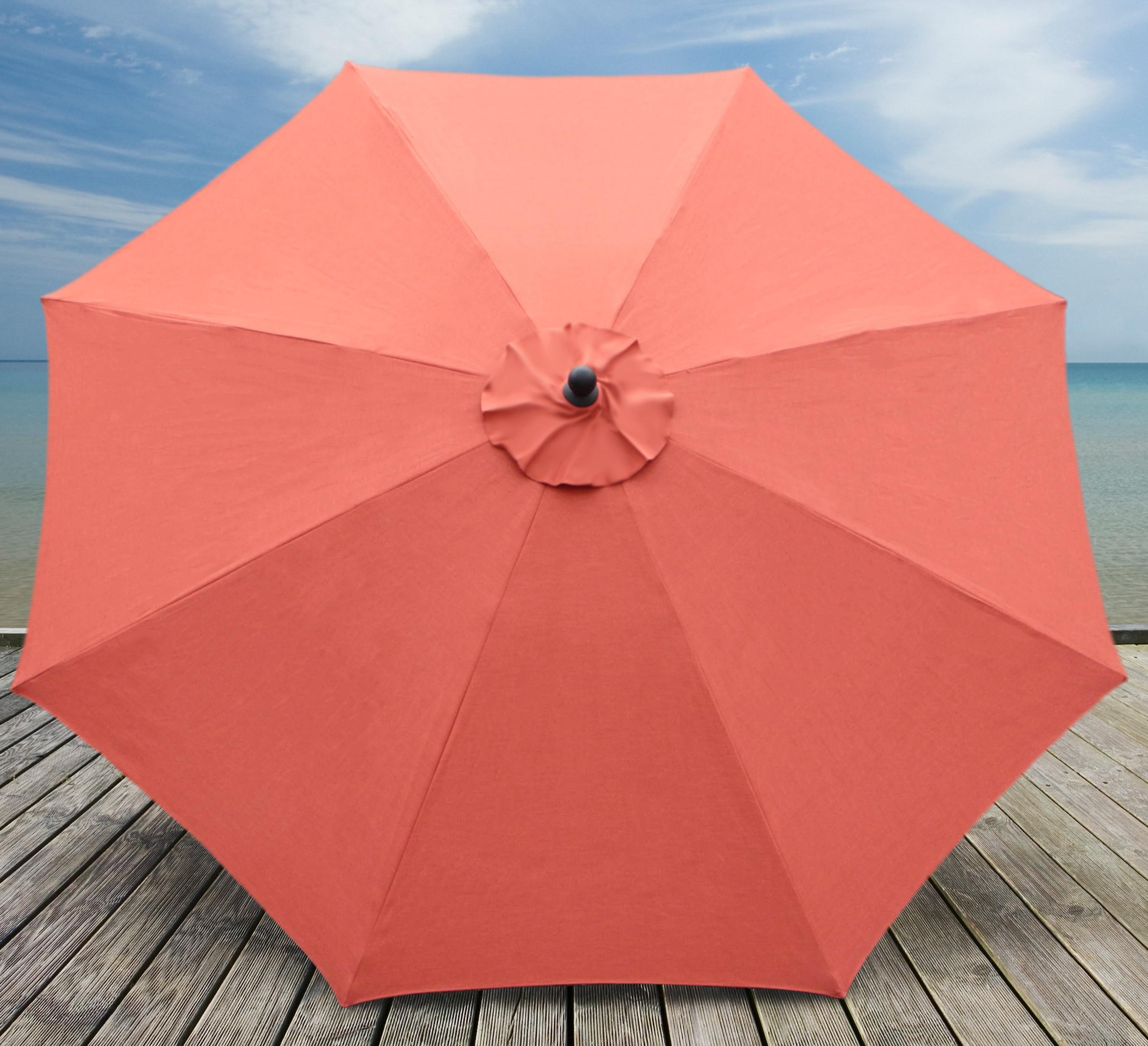 Mucci Madilyn 10' Market Sunbrella Umbrella With Current Mucci Madilyn Market Sunbrella Umbrellas (Gallery 2 of 20)