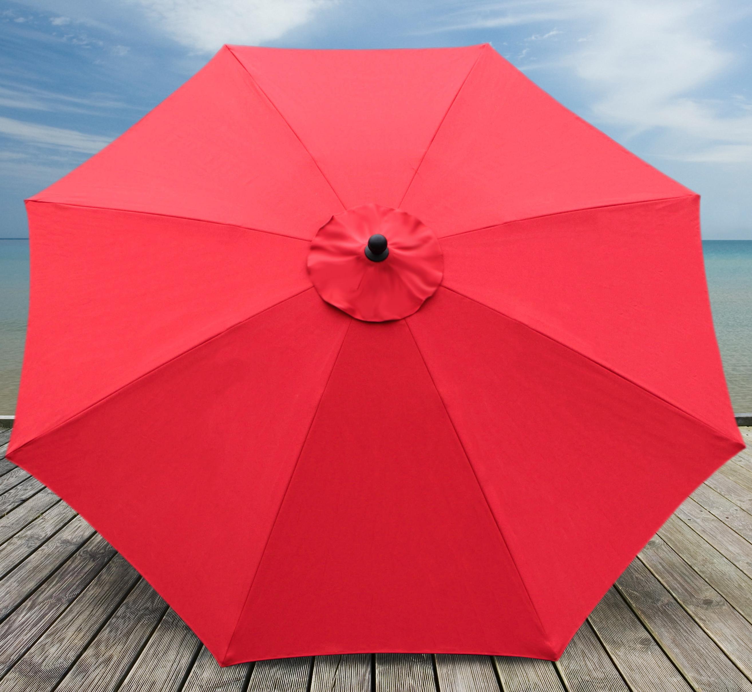 Mucci Madilyn Market Sunbrella Umbrellas Throughout Most Up To Date Mucci Madilyn 10' Market Sunbrella Umbrella (View 3 of 20)