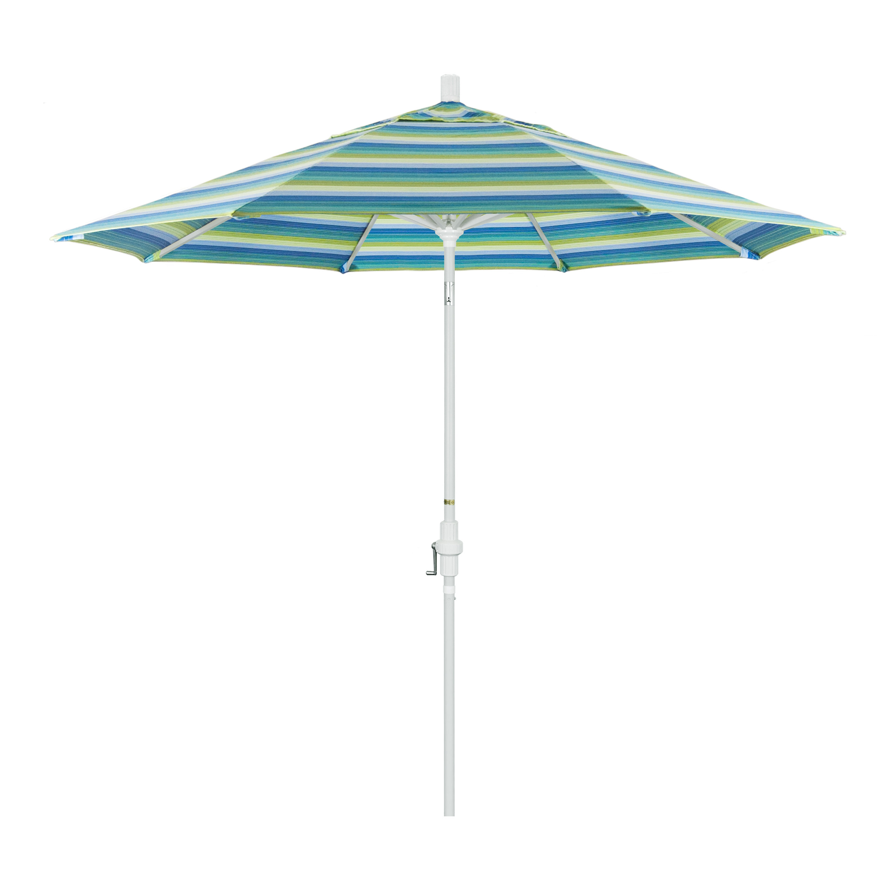 Mullaney Market Sunbrella Umbrellas Throughout Most Recent Golden State Series 9' Market Sunbrella Umbrella (View 15 of 20)