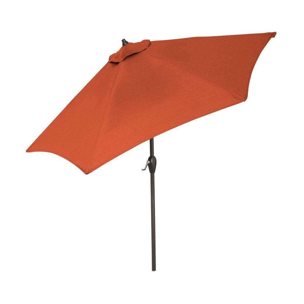 New Haven Market Umbrellas For Trendy Hampton Bay 9 Ft (View 20 of 20)