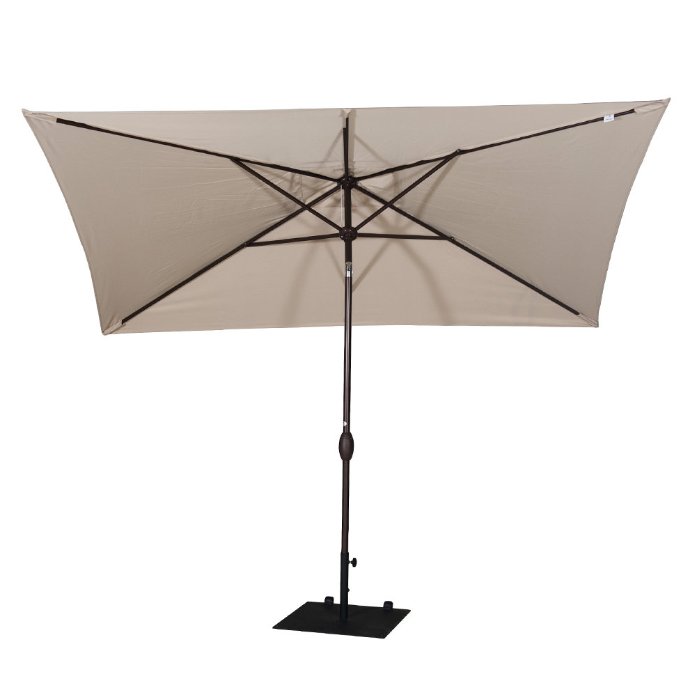 New Haven Market Umbrellas Regarding Favorite Freeport Park Jerrell 10' X 7' Rectangular Market Umbrella (Gallery 17 of 20)