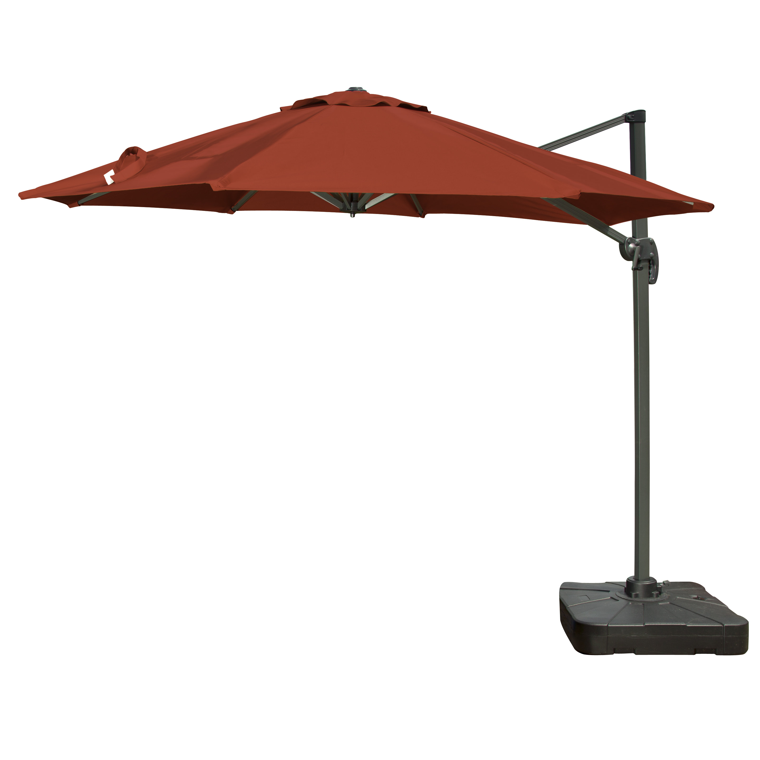 Newest Alms 9.10' Cantilever Umbrella With Olen Cantilever Umbrellas (Gallery 3 of 20)