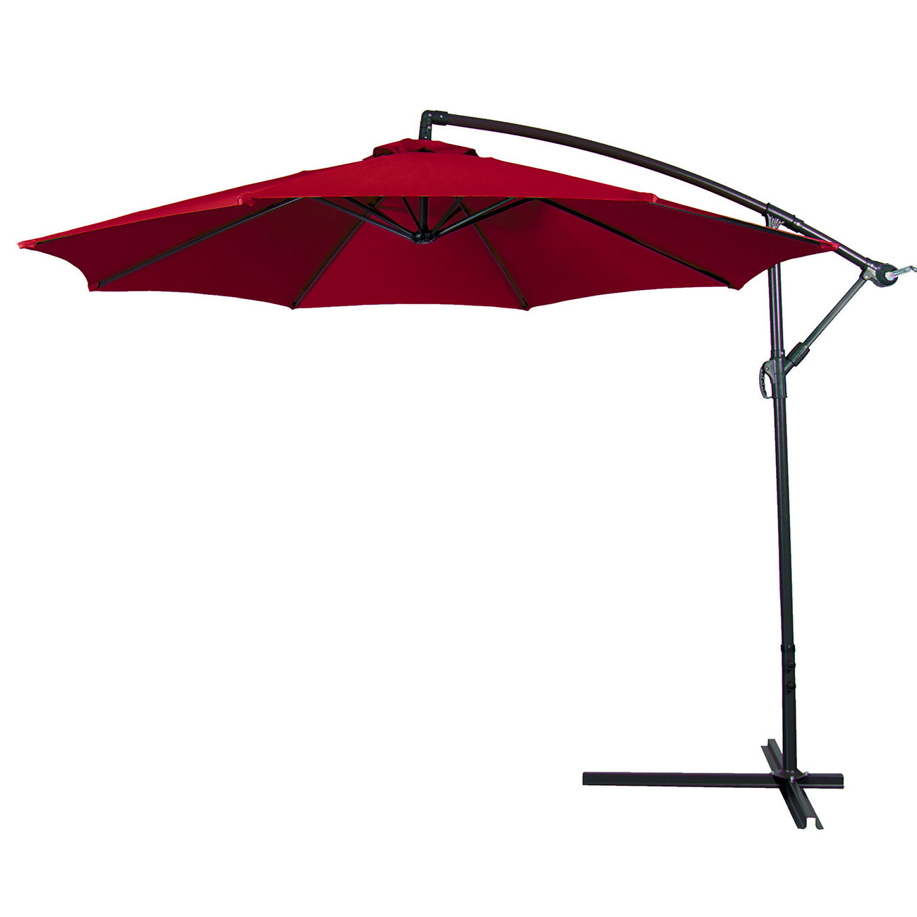 Newest Bormann Cantilever Umbrellas Within Bormann 10' Cantilever Umbrella (View 14 of 20)