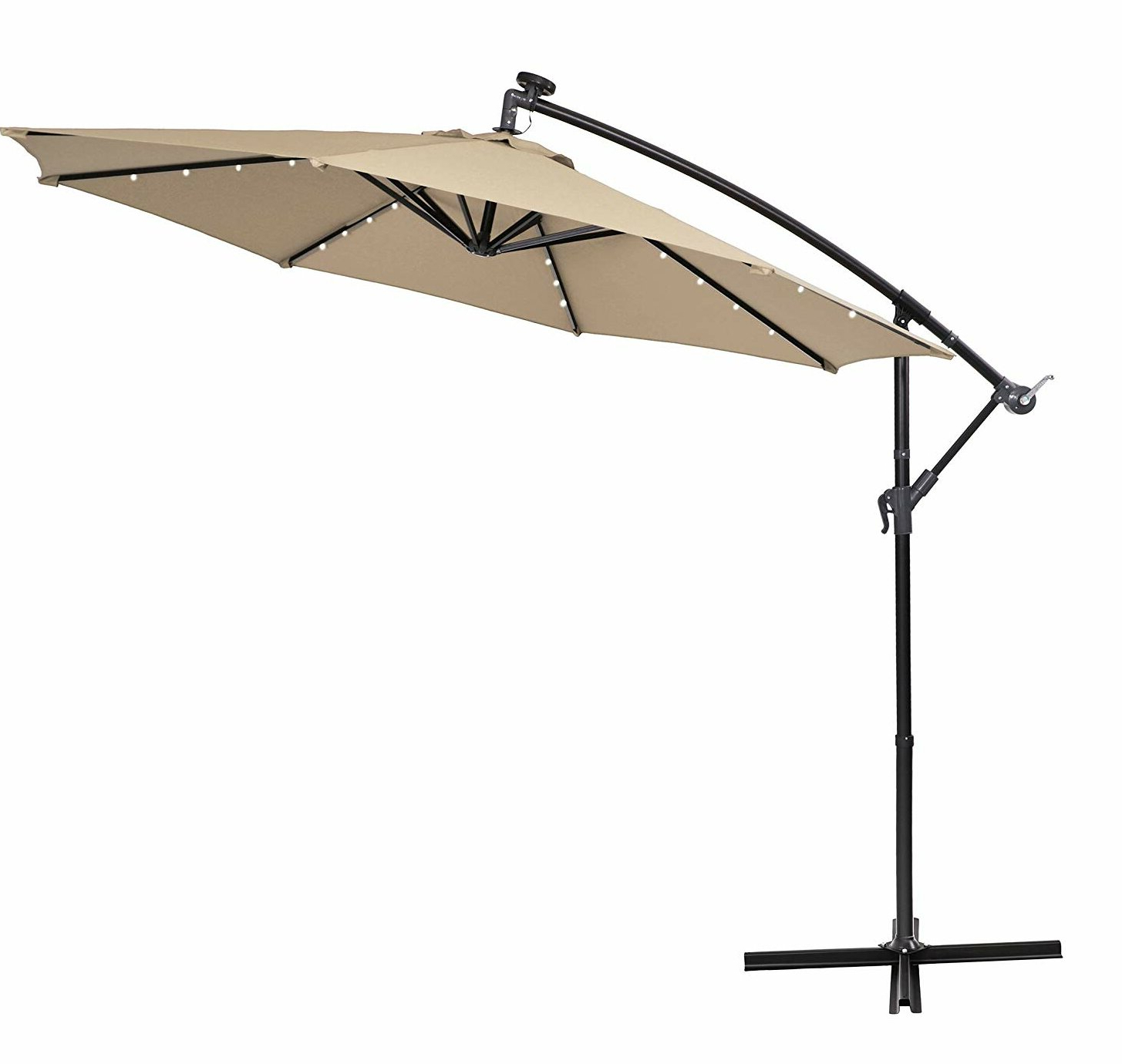 Newest Bostic 10' Cantilever Umbrella With Bostic Cantilever Umbrellas (Gallery 1 of 20)