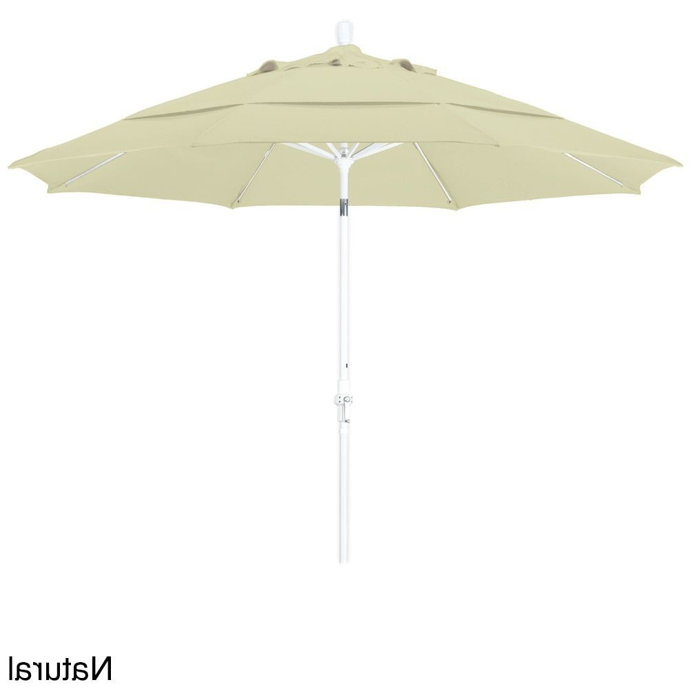 Newest California Umbrella 11' Rd (View 18 of 20)