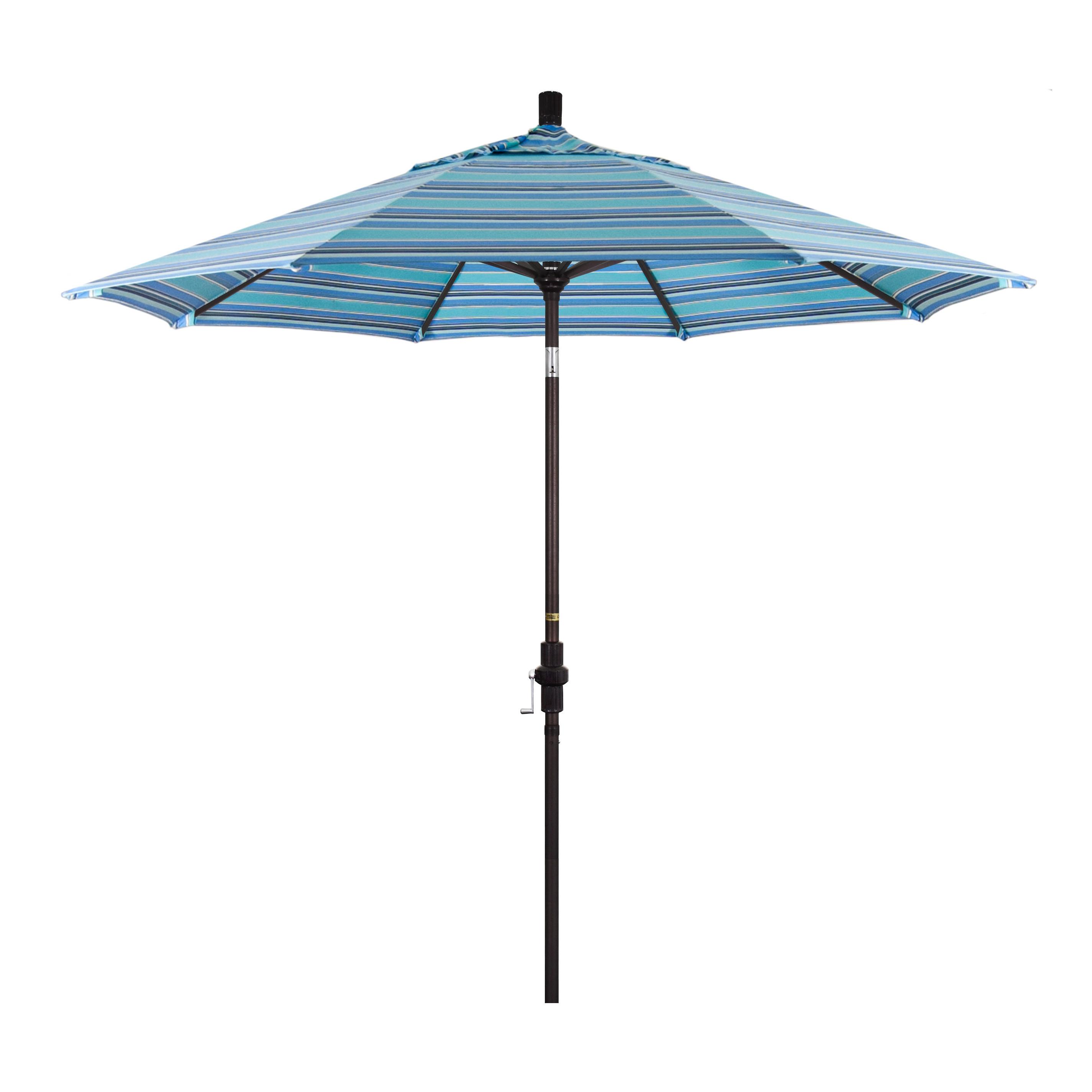 Newest Golden State Series 9' Market Sunbrella Umbrella For Caravelle Market Sunbrella Umbrellas (Gallery 6 of 20)