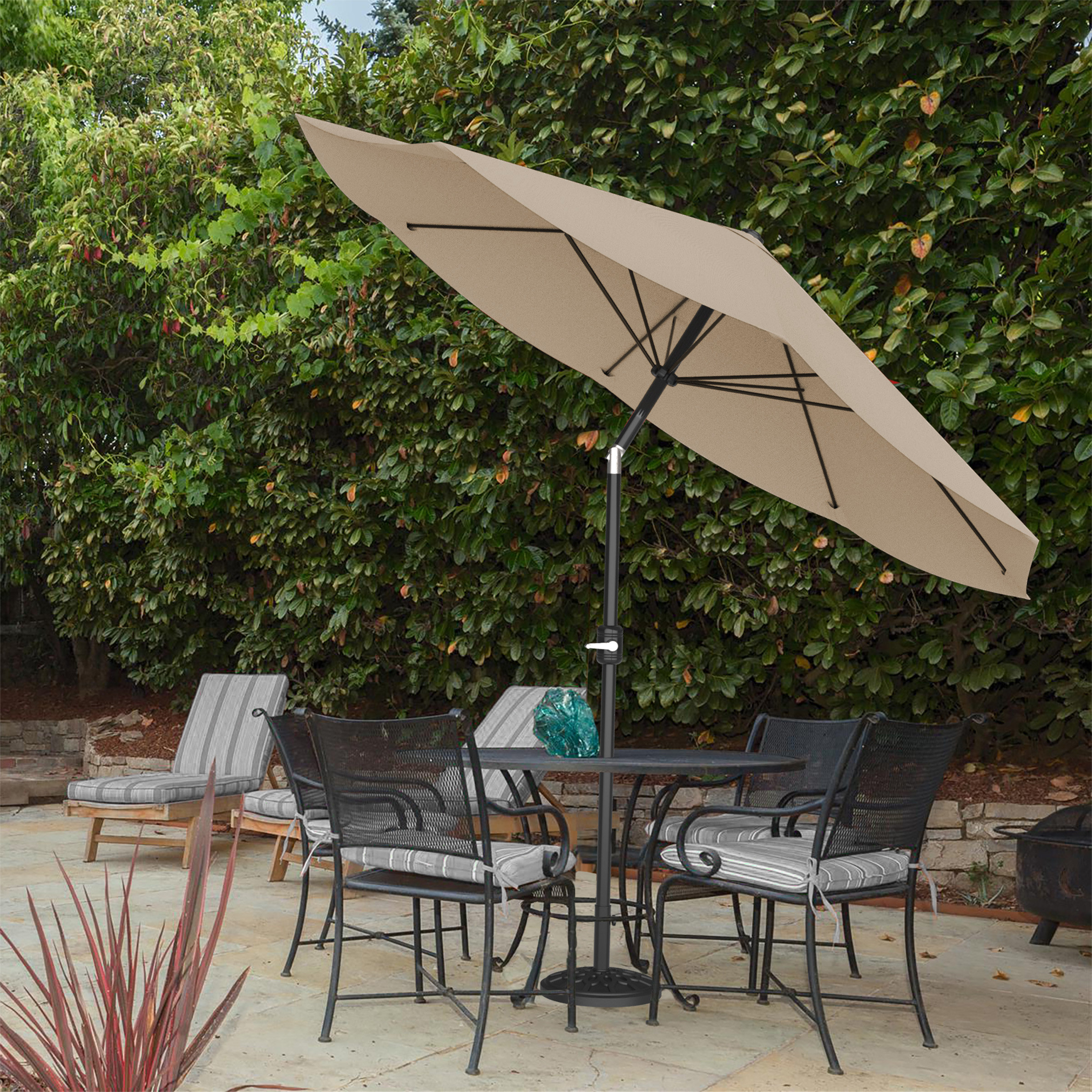 Newest Kelton 10' Market Umbrella Throughout Carina Market Umbrellas (Gallery 18 of 20)