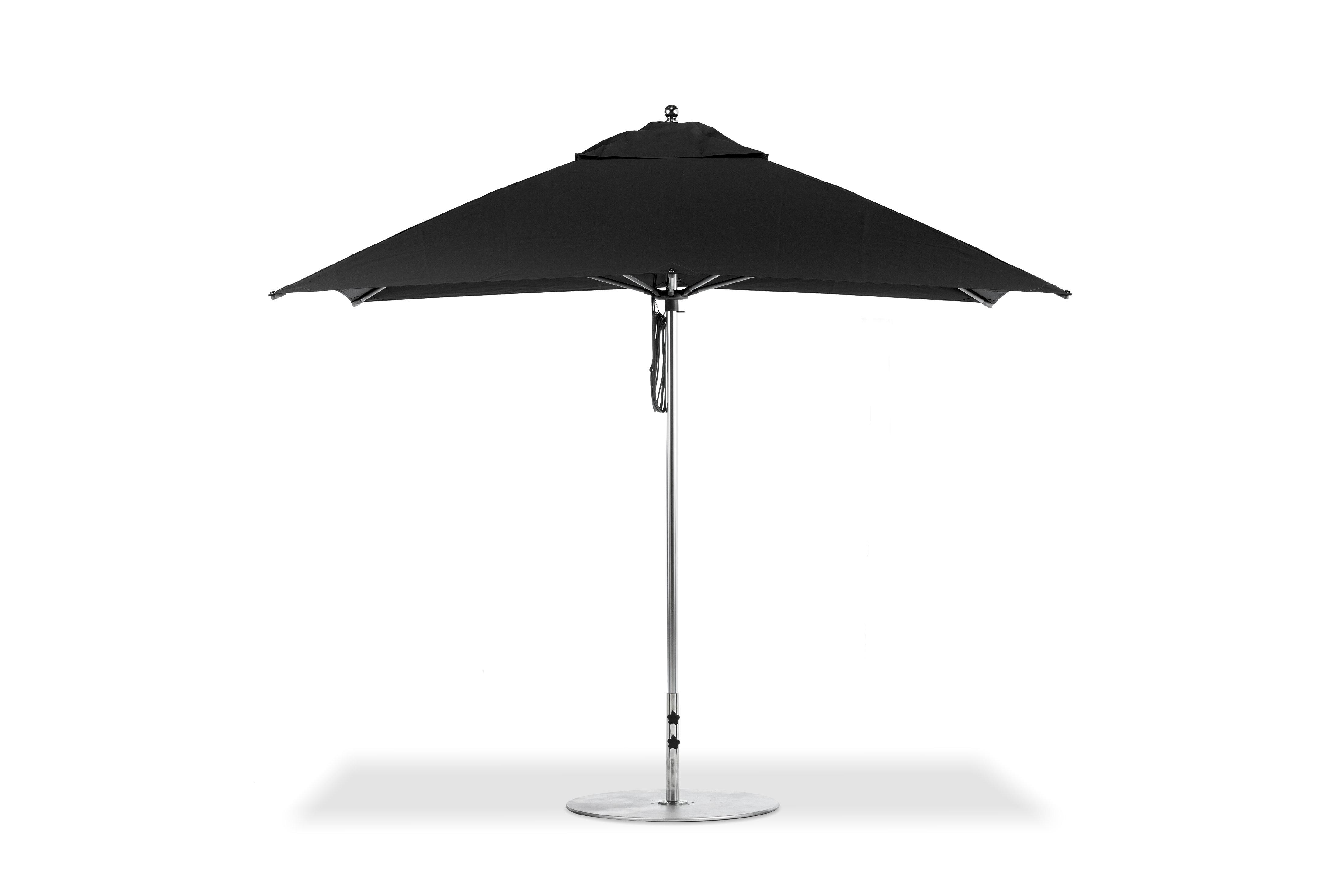 Newest Kofi 10' Square Market Umbrella Throughout Crowborough Square Market Umbrellas (View 17 of 20)