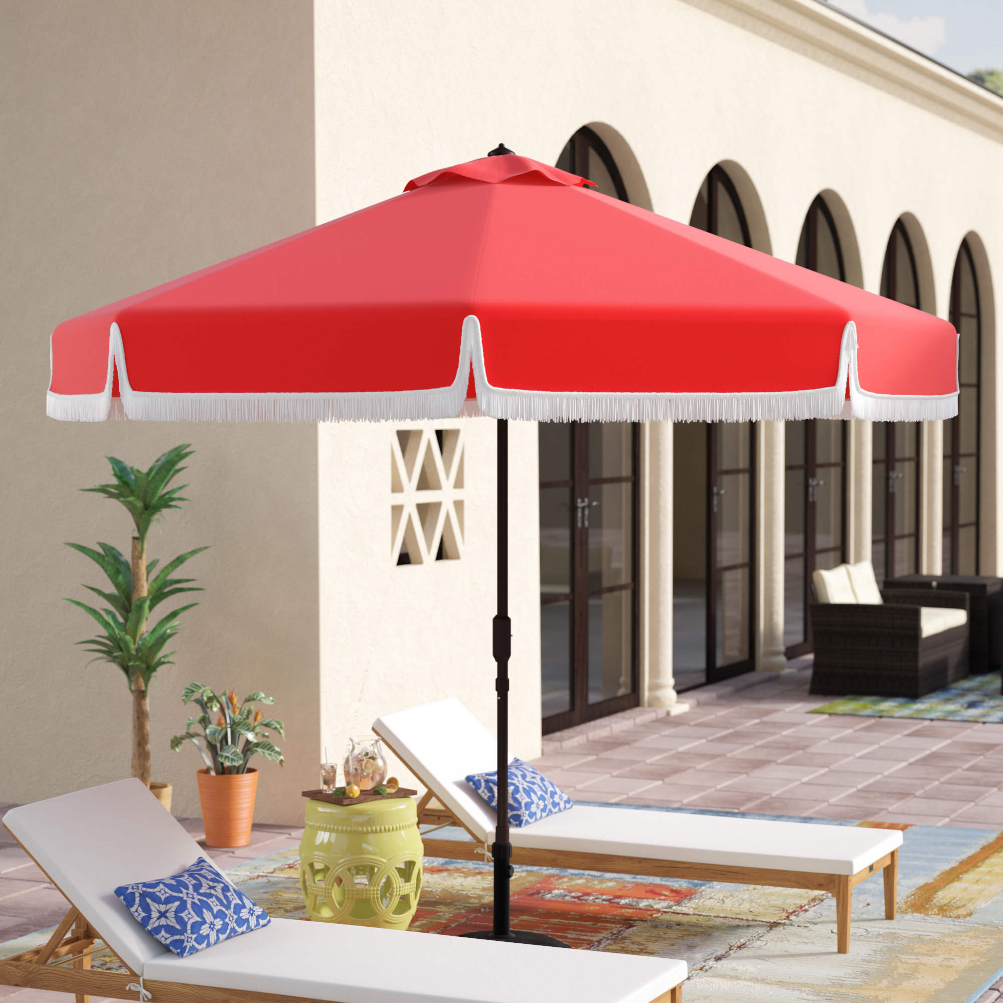Newest Lizarraga Market Umbrellas Pertaining To Wacker (View 20 of 20)