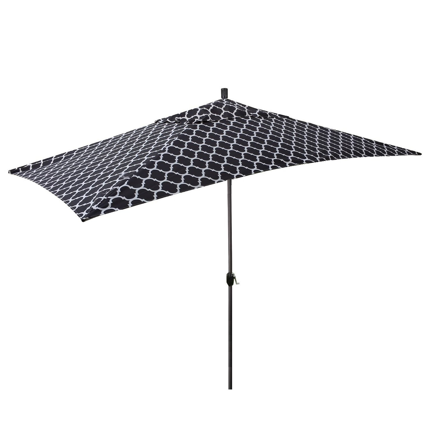 Newest Sherlyn 10' X 6' Rectangular Market Umbrella Intended For Norah Rectangular Market Umbrellas (View 12 of 20)