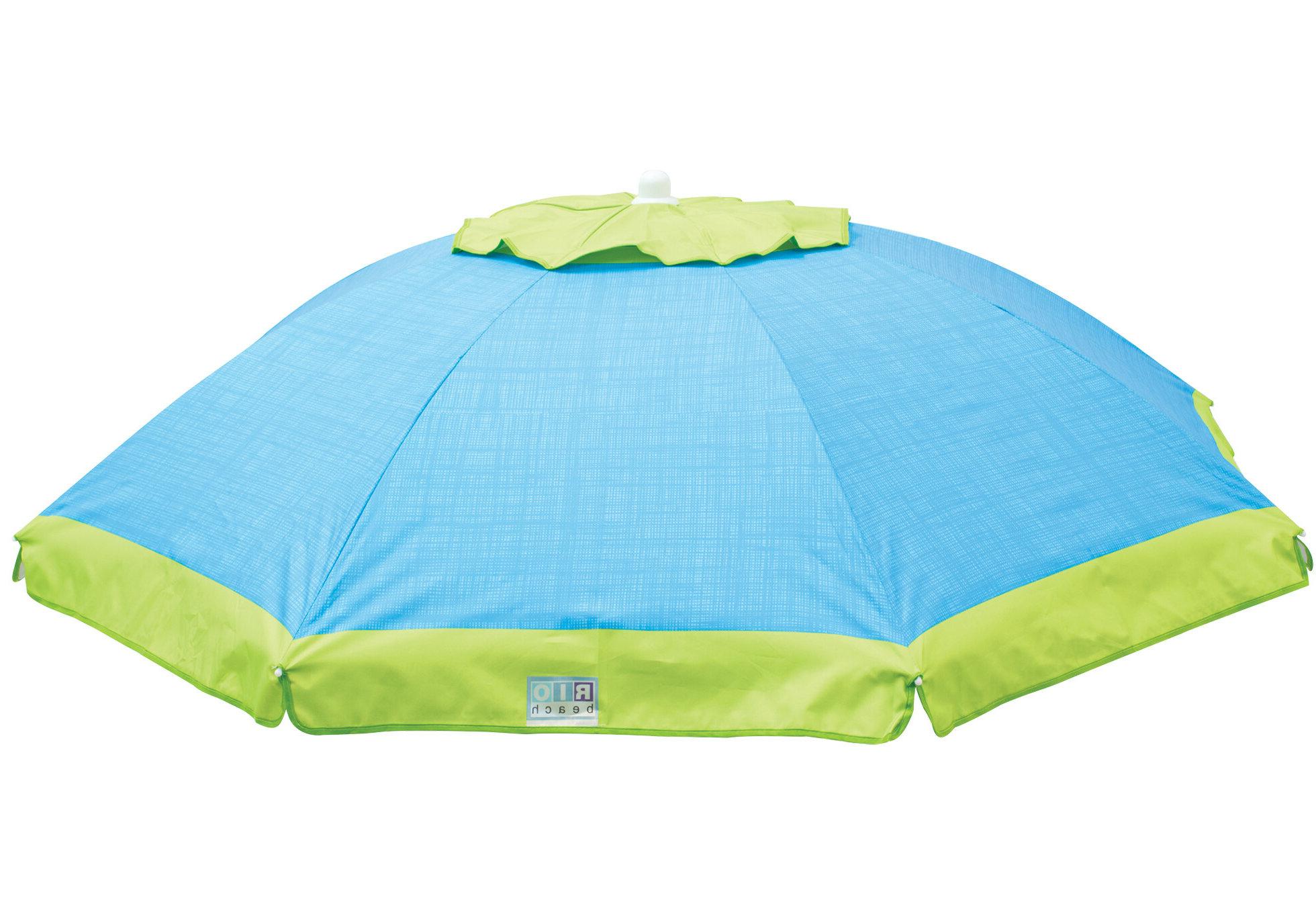 Newest Tilt 6 Ft. Beach Umbrella In Kerner Steel Beach Umbrellas (Gallery 13 of 20)