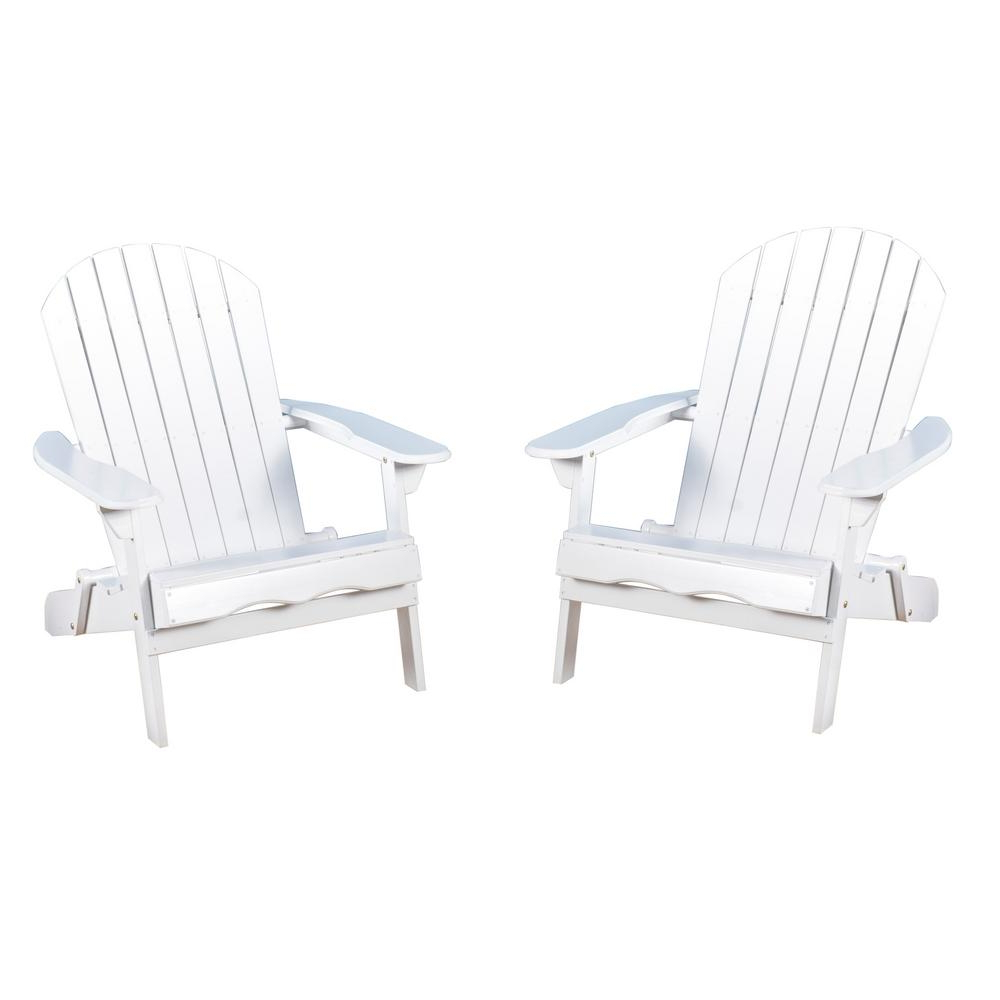 Noble House Obadiah White Folding Wood Adirondack Chair (2 Pack) Intended For Best And Newest Amaris Cantilever Umbrellas (View 13 of 20)
