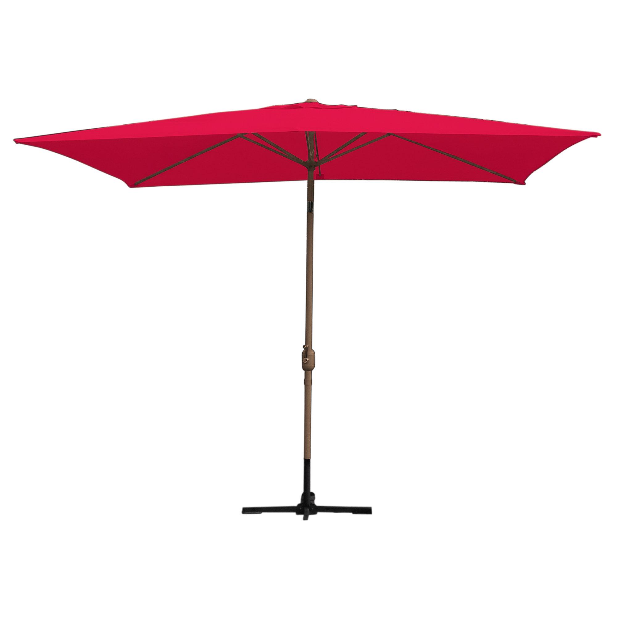 Norah Rectangular Market Umbrellas With 2020 Norah 10' X 6.5' Rectangular Market Umbrella (Gallery 1 of 20)
