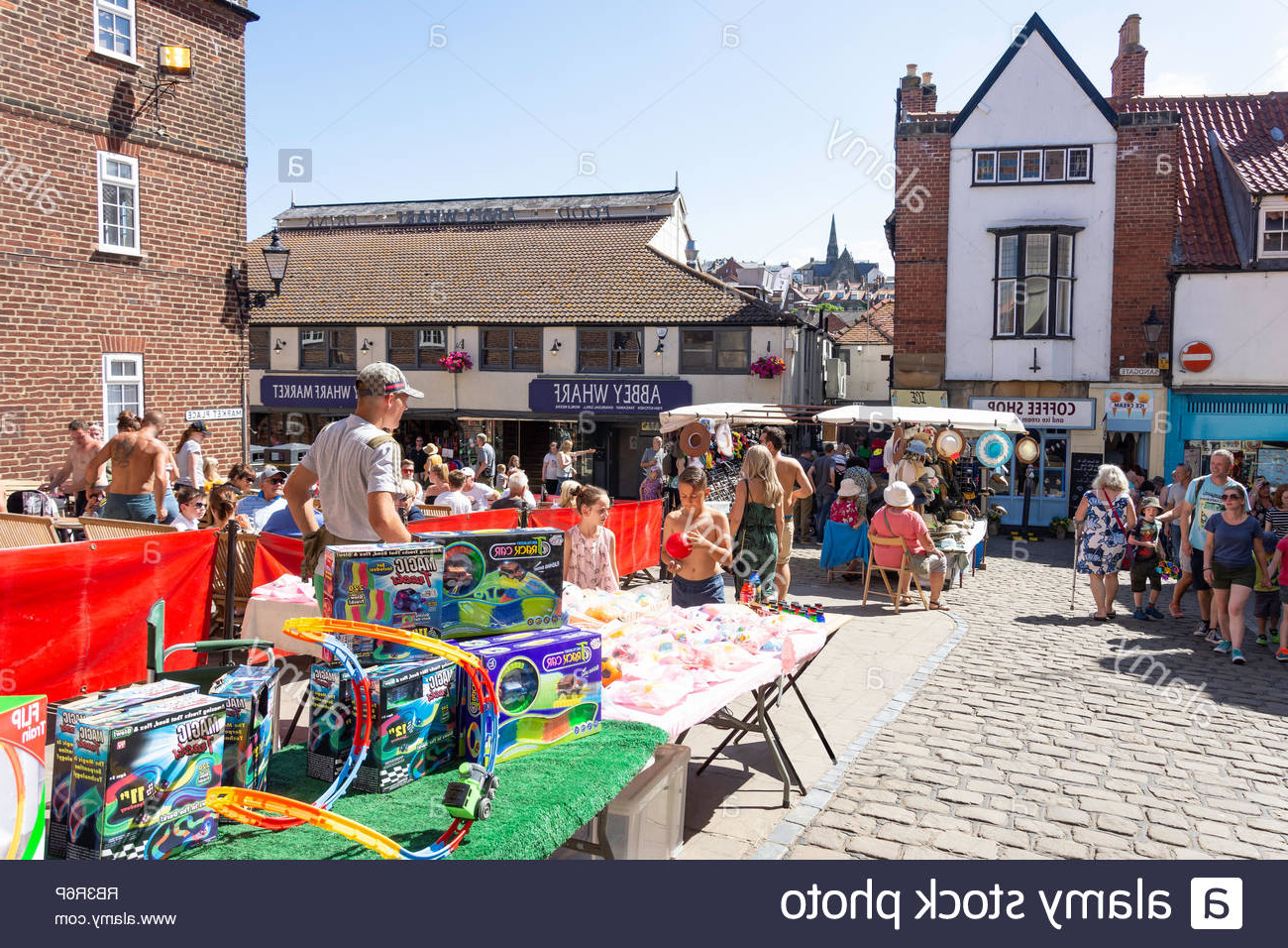 North Yorkshire Toys Stock Photos & North Yorkshire Toys Stock Pertaining To 2020 Filey Market Umbrellas (View 14 of 20)