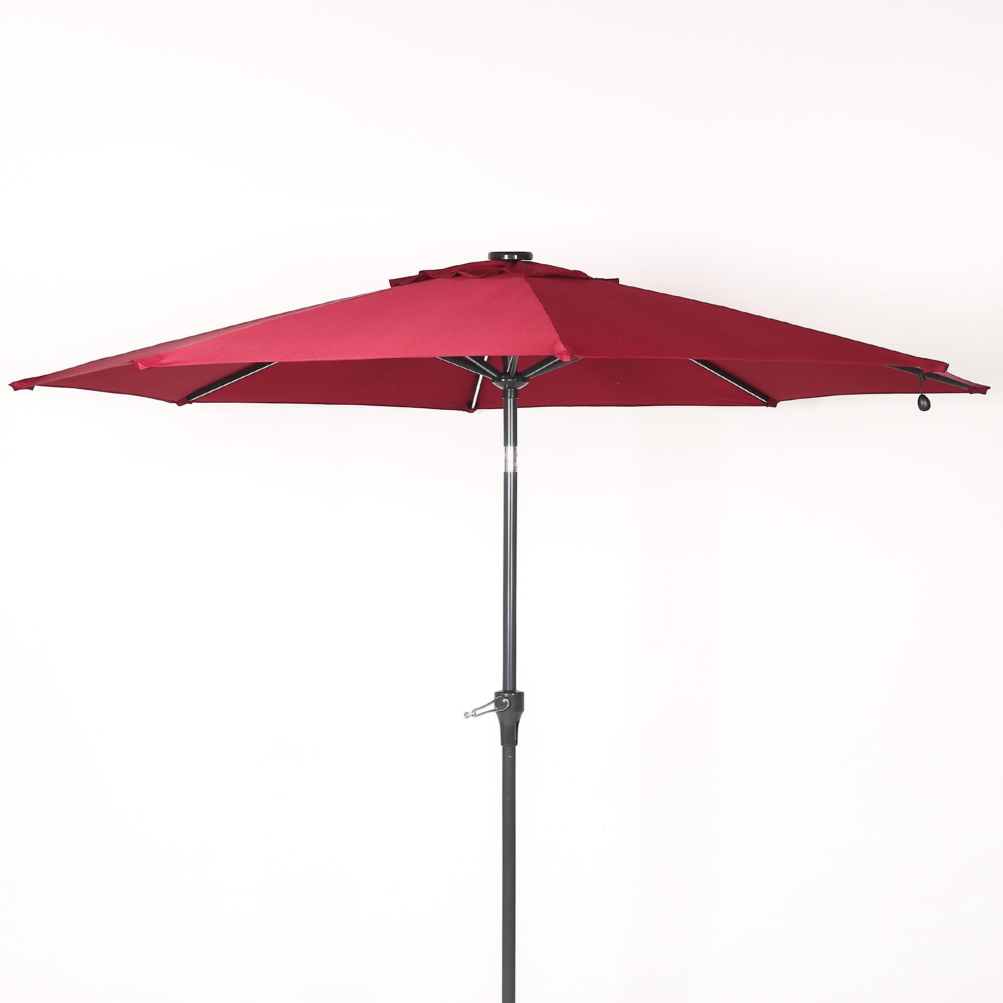 Olszewski 9' Market Umbrella Pertaining To 2019 Branscum Lighted Umbrellas (View 15 of 20)