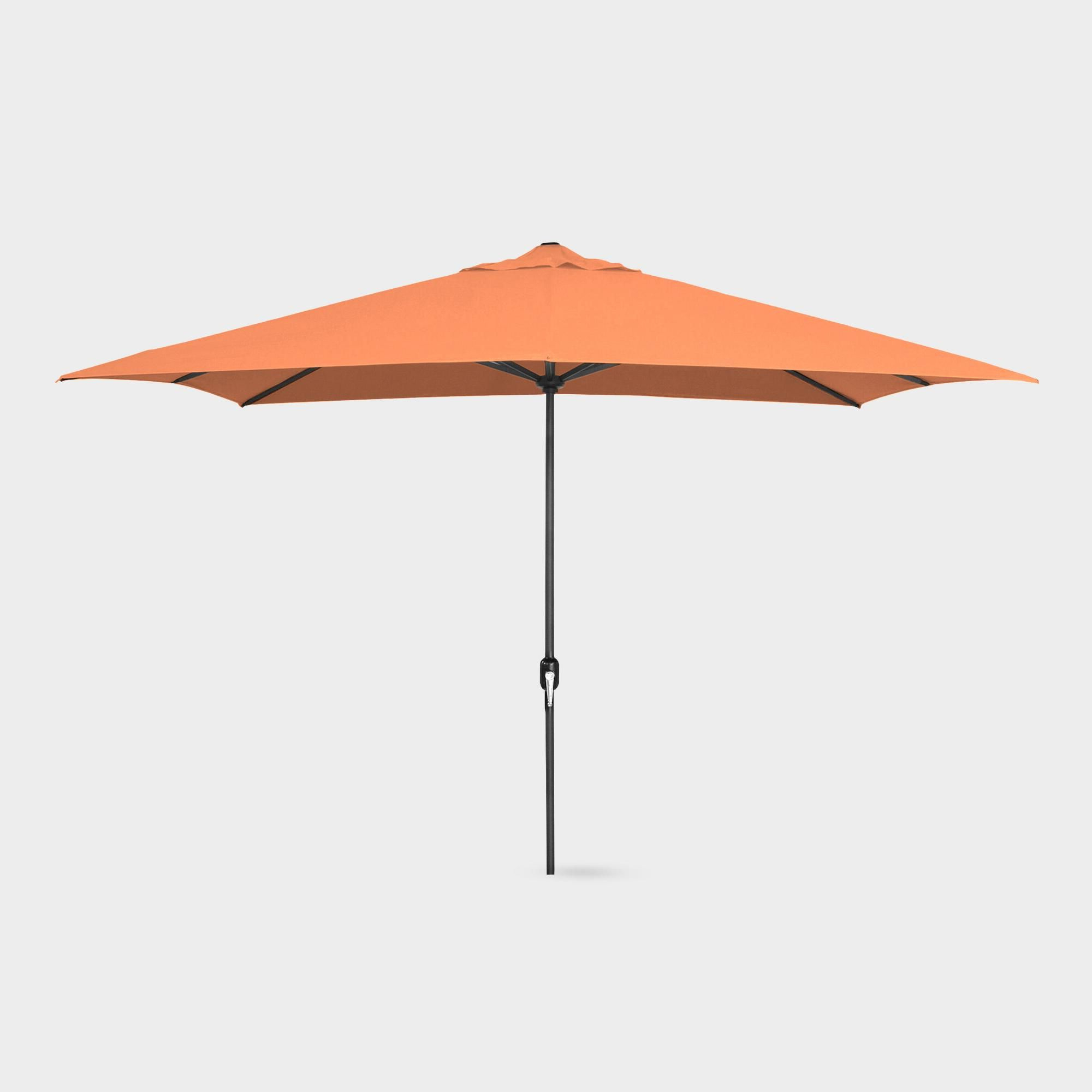 Orange Rectangular Outdoor Patio Umbrellaworld Market (View 8 of 20)