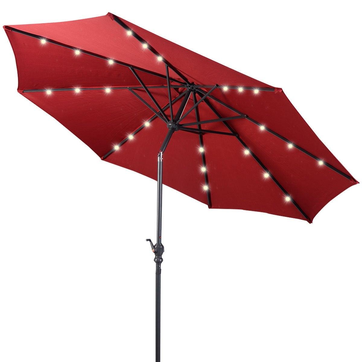 Our Best Patio Umbrellas For Venice Lighted Umbrellas (View 7 of 20)