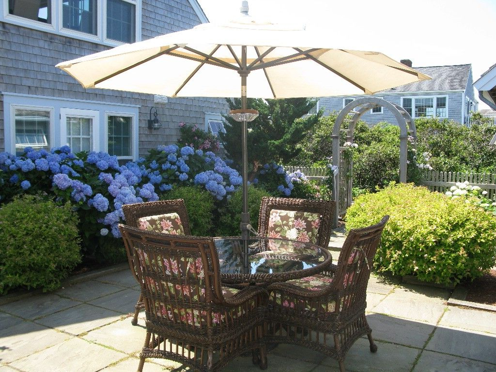 Outdoor Spaces In Brubaker Market Umbrellas (View 14 of 20)