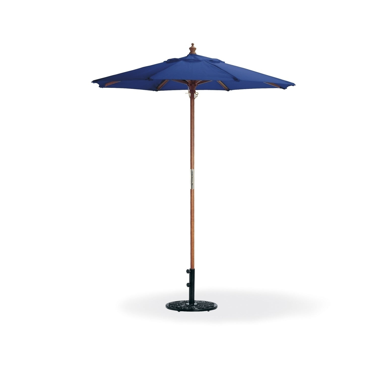 Oxford Garden Octagon 6 Foot Canvas Market Umbrella Pertaining To Famous Market Umbrellas (View 16 of 20)