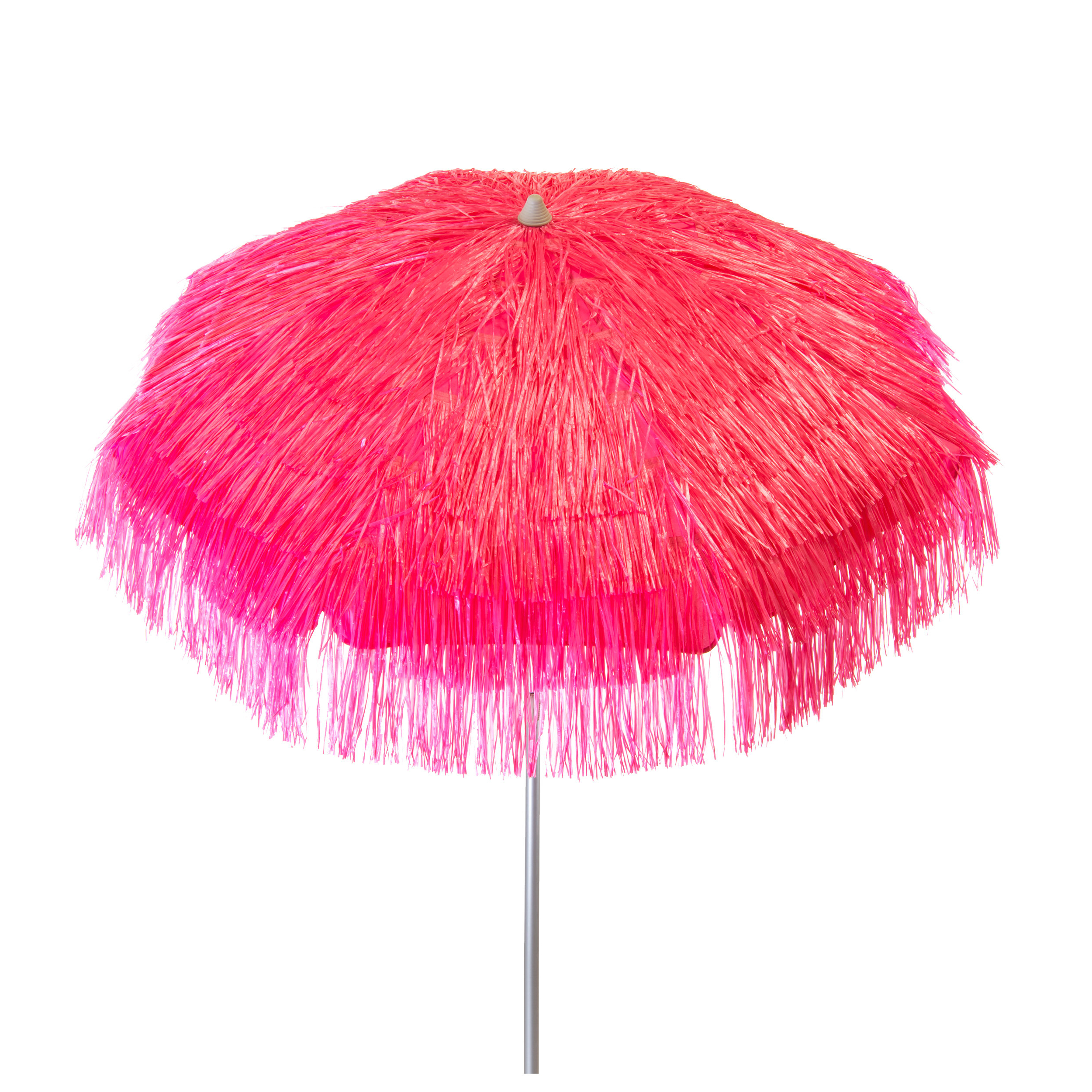 Palapa 6' Beach Umbrella With Regard To Newest Maglione Fabric 4cantilever Umbrellas (View 11 of 20)