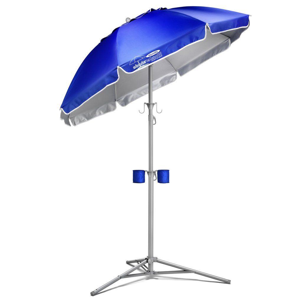 Patio Regarding Alyson Joeshade Beach Umbrellas (View 18 of 20)