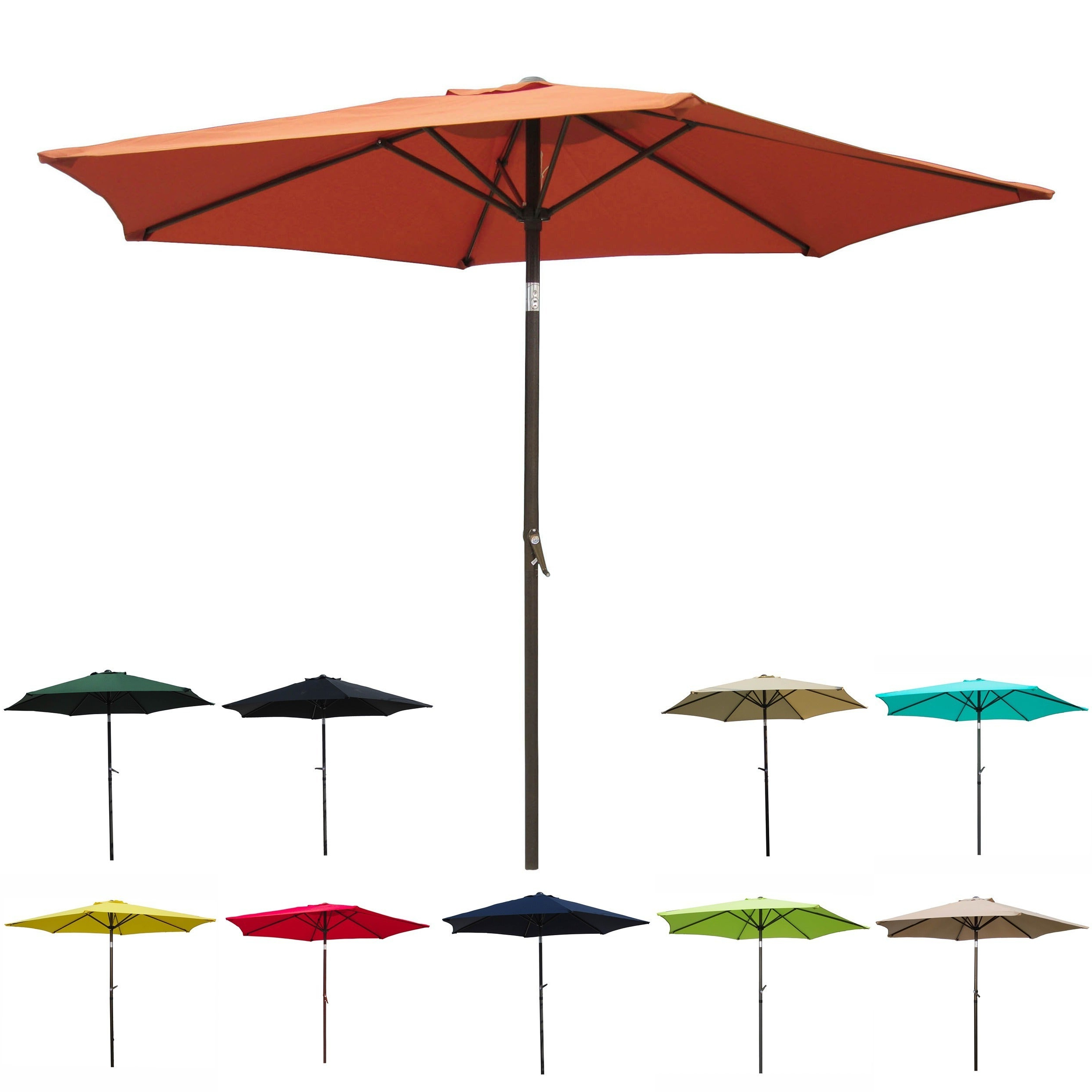 Patio Umbrella 8 Foot Within Well Known Frome Market Umbrellas (View 17 of 20)