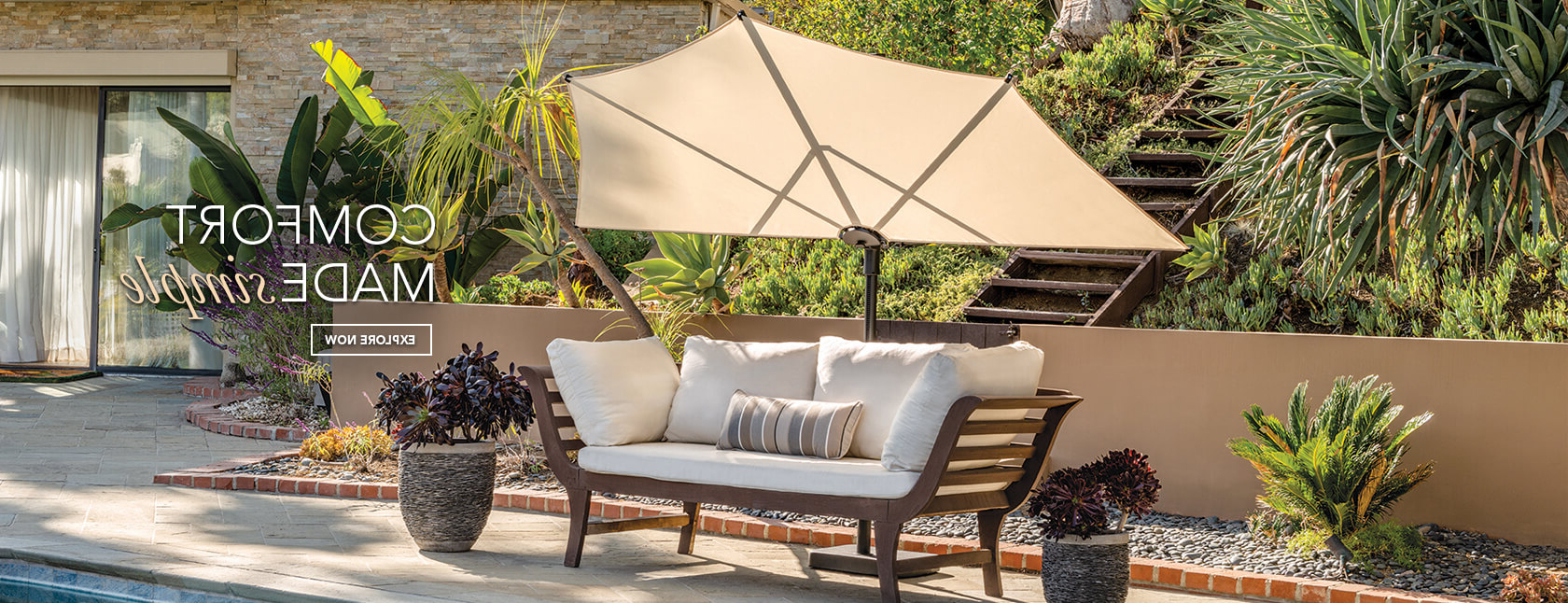 Patio Umbrellas, Patio Shades, Outdoor Umbrella – Simplyshade With Regard To Fashionable Lanai Market Umbrellas (View 13 of 20)