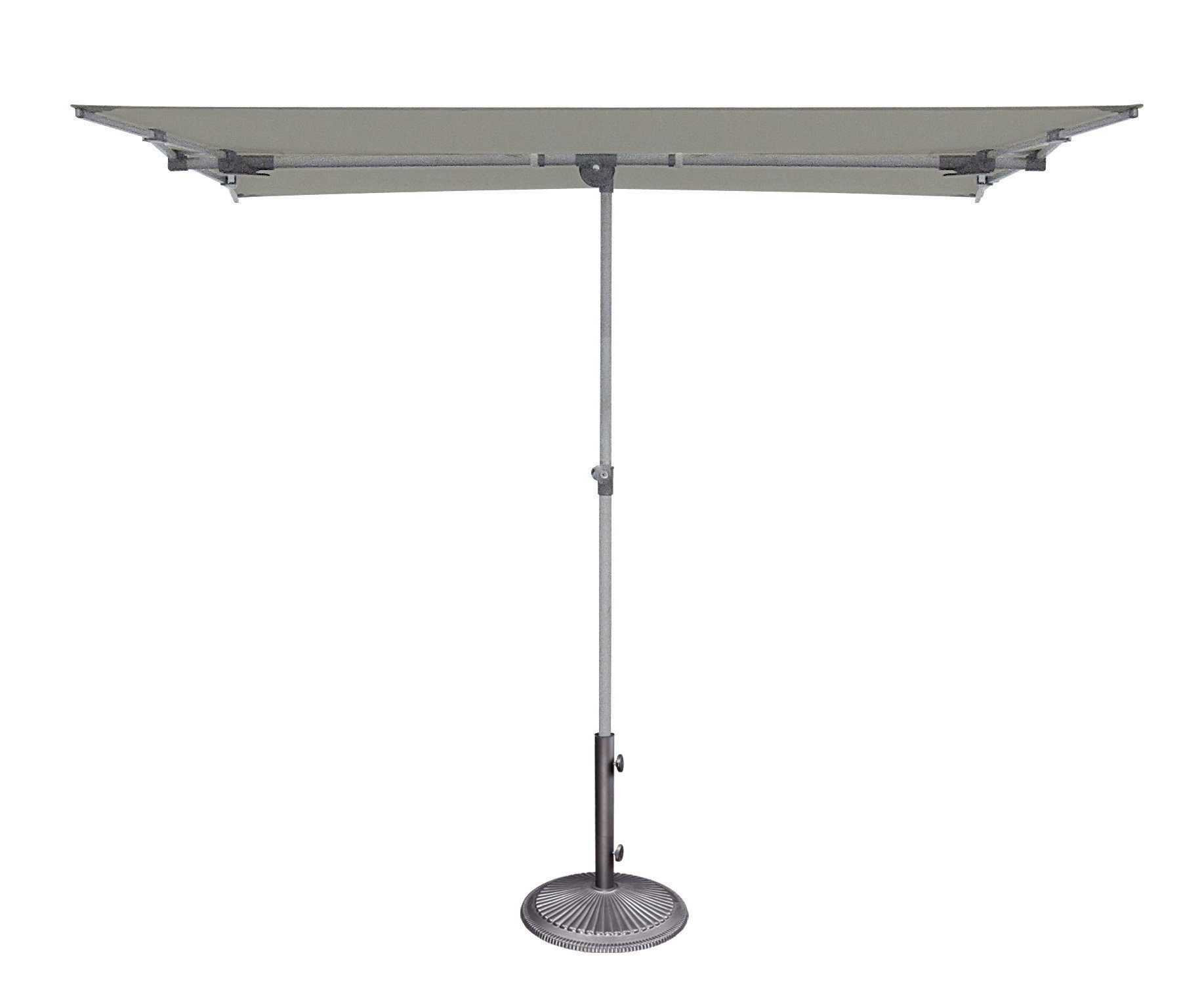 Pau Rectangular Market Umbrellas Within Best And Newest Cordelia 5' X 7' Rectangular Market Umbrella (View 14 of 20)