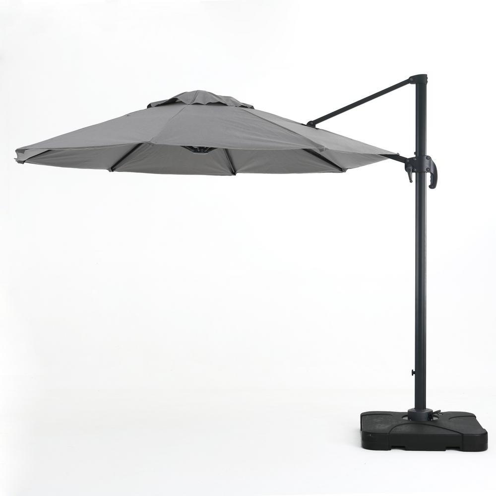 Pau Rectangular Market Umbrellas Within Fashionable Noble House 9.83 Ft (View 14 of 20)