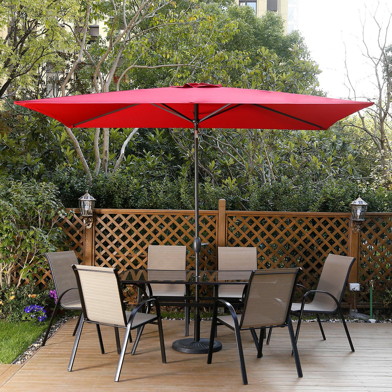 Pau Rectangular Market Umbrellas Within Newest Freeport Park Haverhill Umbrella (View 15 of 20)