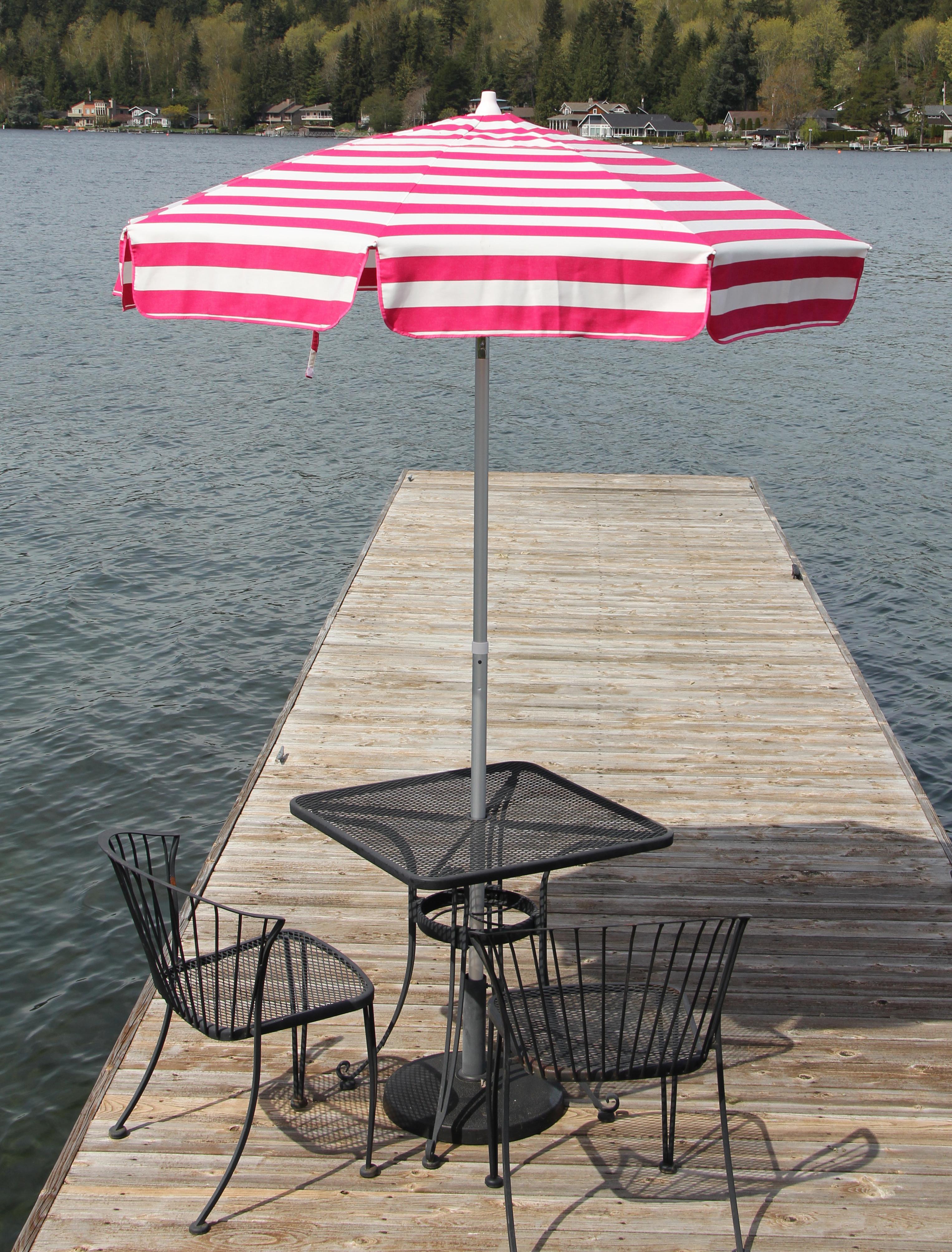 Pedrick Drape Market Umbrellas For Well Known Italian 6' Market Umbrella (View 13 of 20)