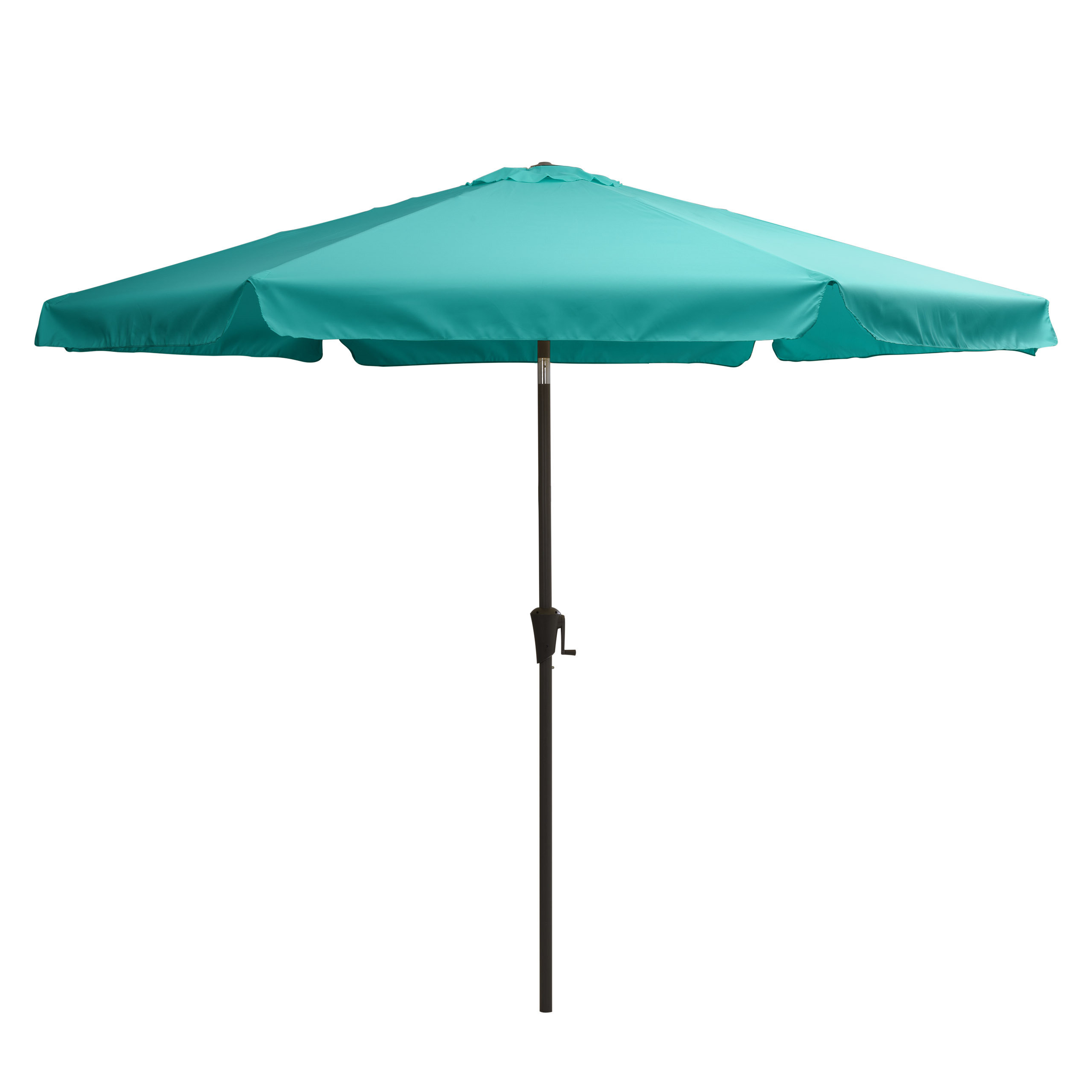 Pedrick Drape Market Umbrellas Pertaining To Most Up To Date Crowborough 10' Market Umbrella (View 14 of 20)