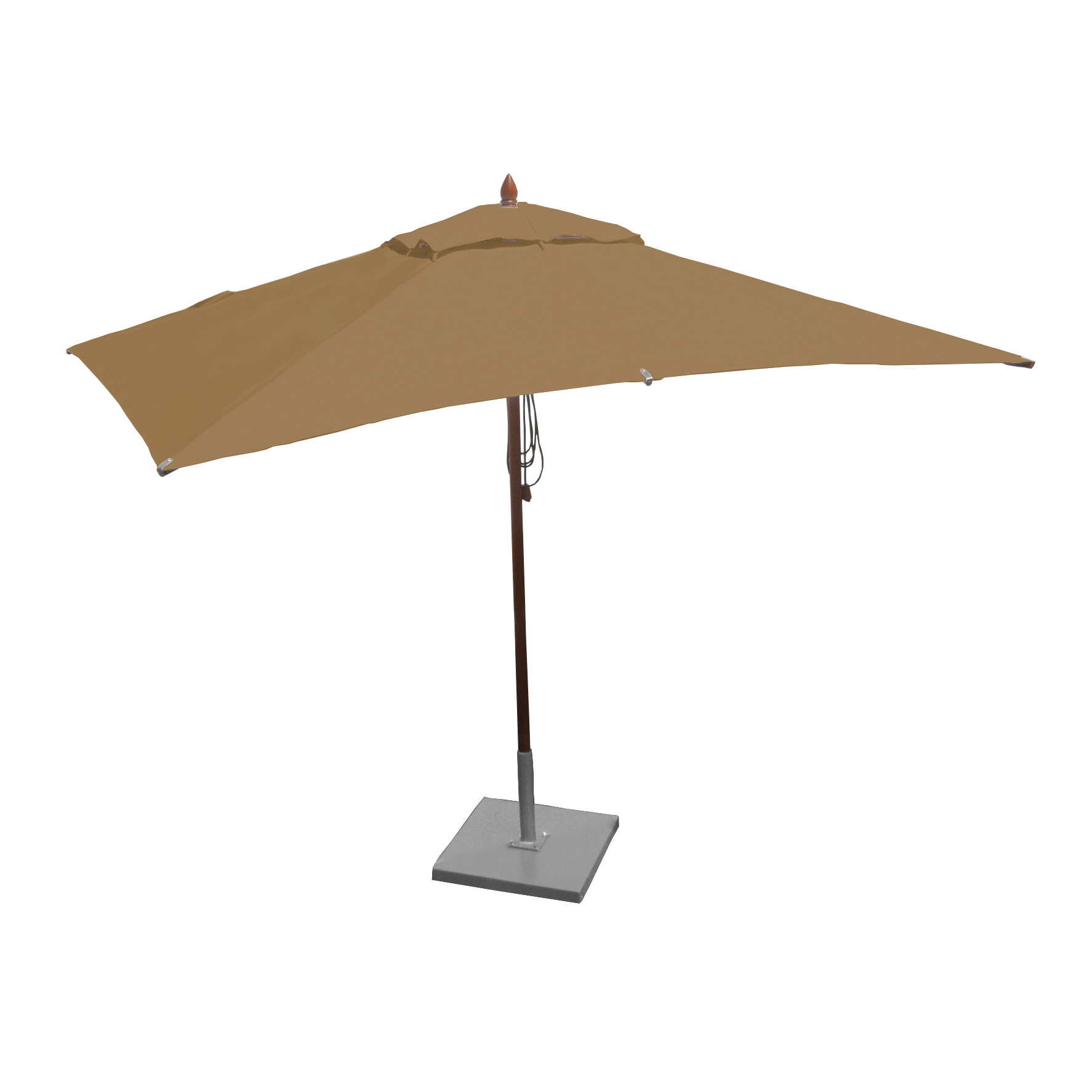 Popular Gries Rectangular Market Umbrellas Intended For Greencorner 10' X (View 6 of 20)