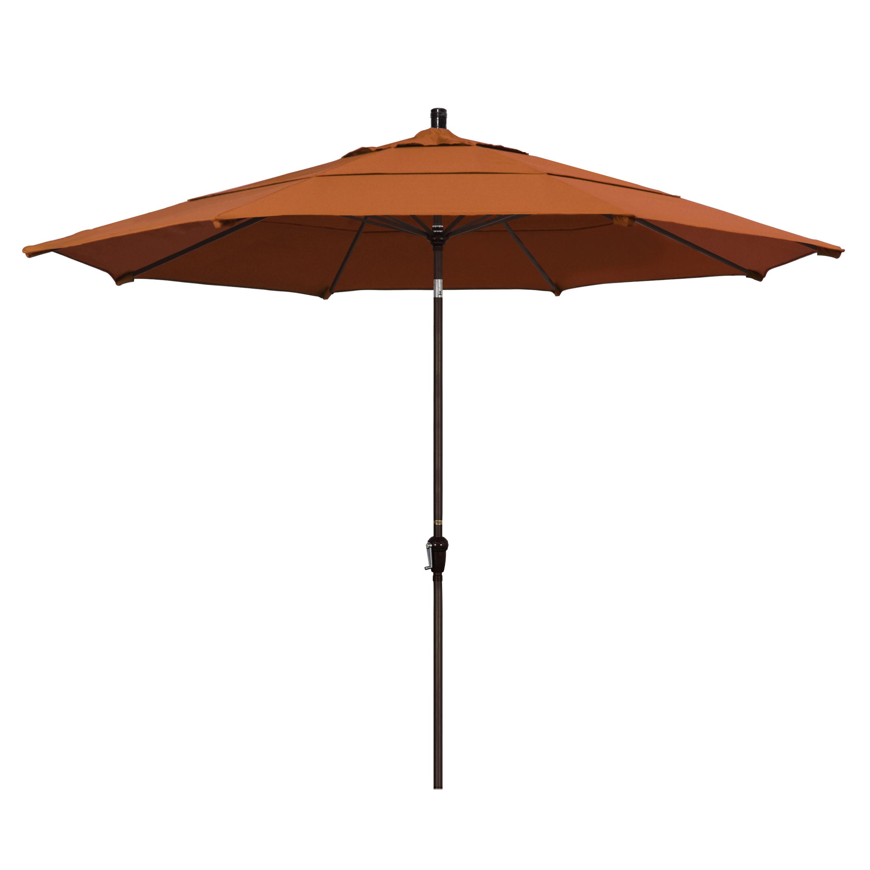 Popular Mullaney 11' Market Sunbrella Umbrella With Carlton  Rectangular Market Umbrellas (View 17 of 20)