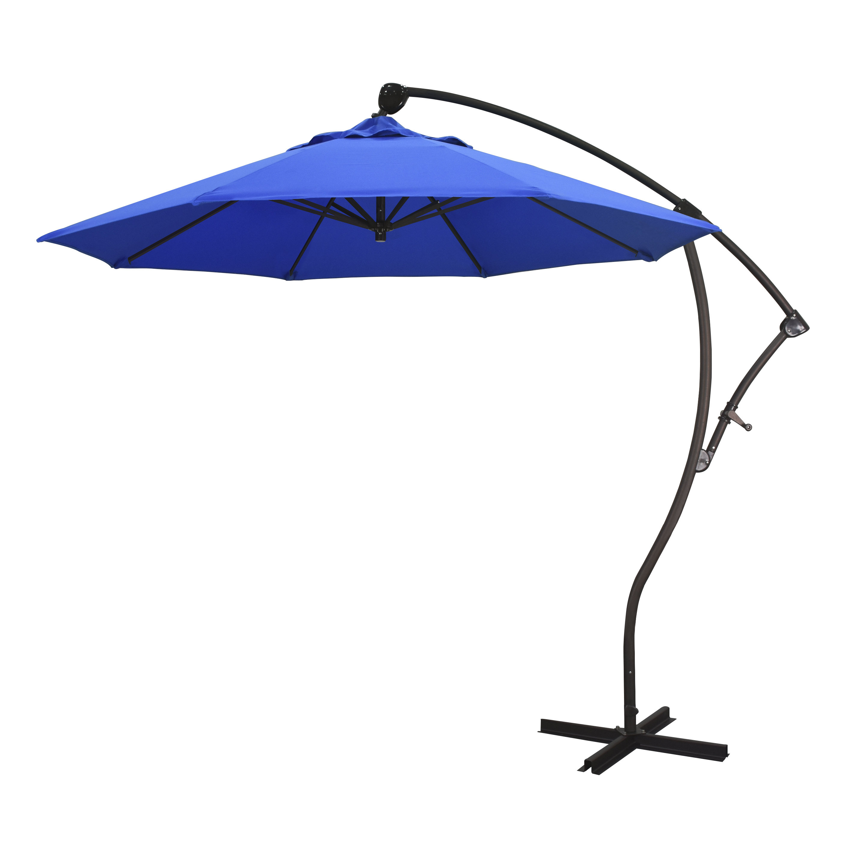 Popular Ryant 9' Cantilever Umbrella Inside Jaelynn Cantilever Umbrellas (View 10 of 20)